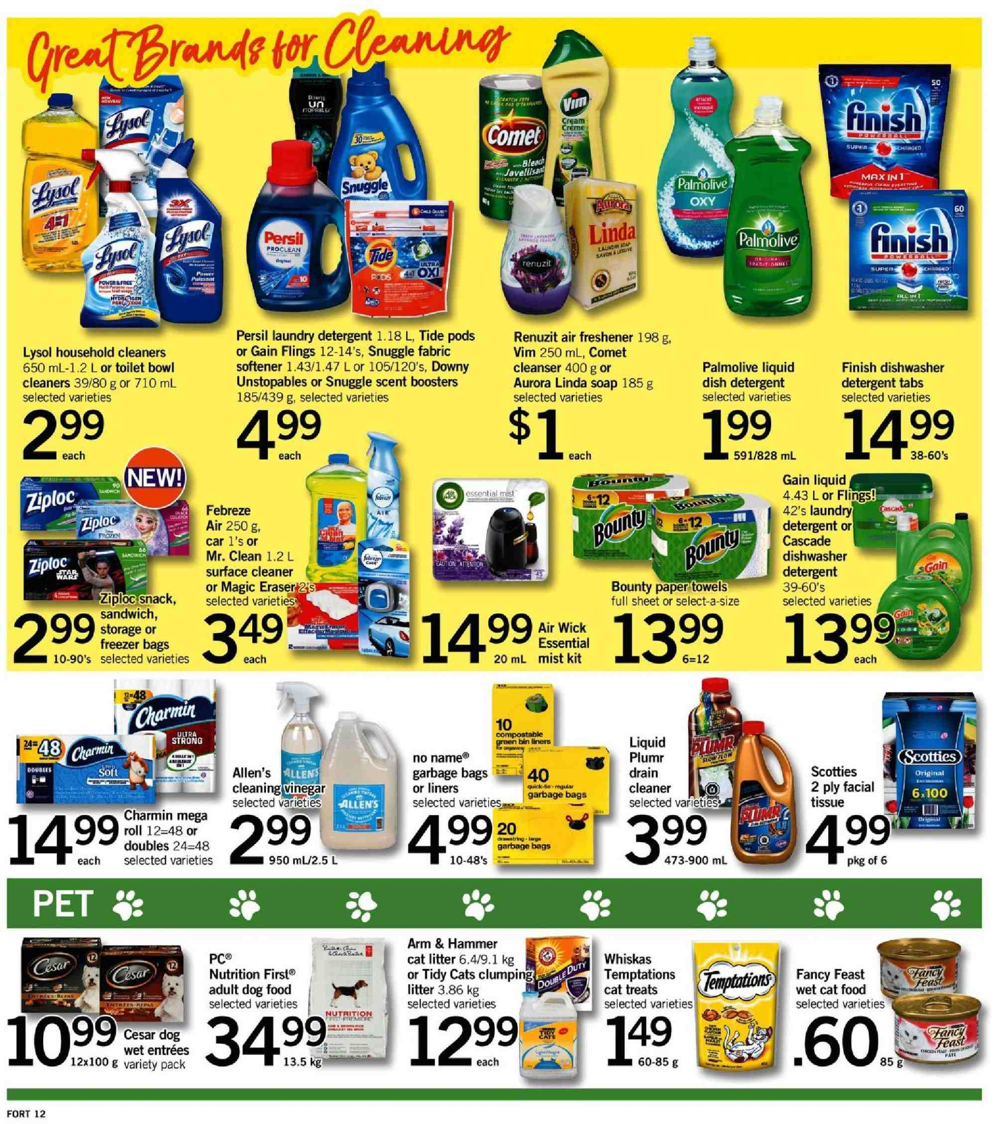 Fortinos Flyer  - August 09, 2018 - August 15, 2018. Page 12.
