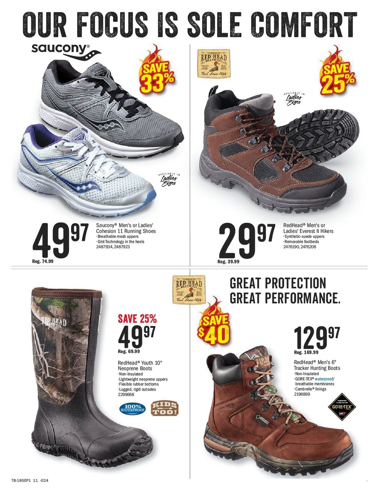 Bass Pro Shops Flyer  - August 27, 2018 - September 09, 2018. Page 11.