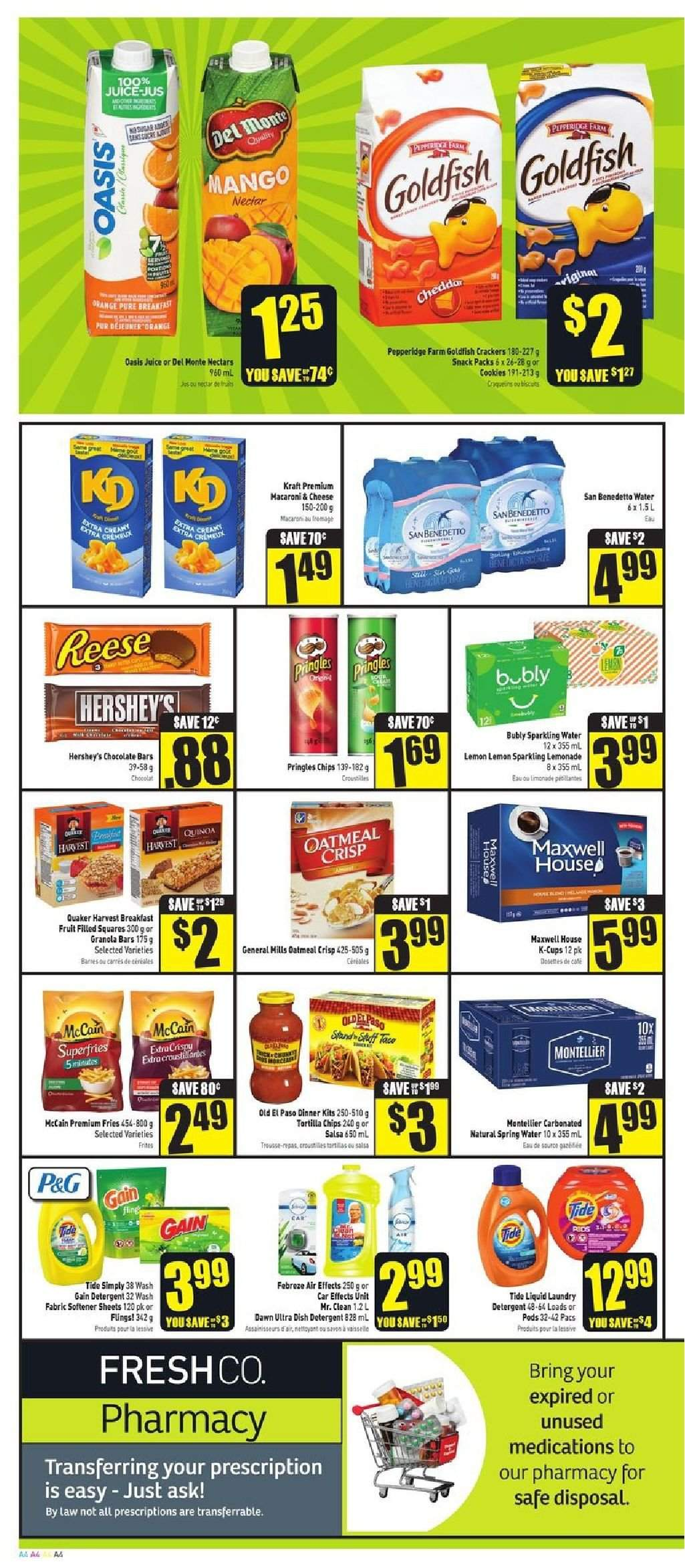 FreshCo. Flyer  - August 30, 2018 - September 05, 2018. Page 4.