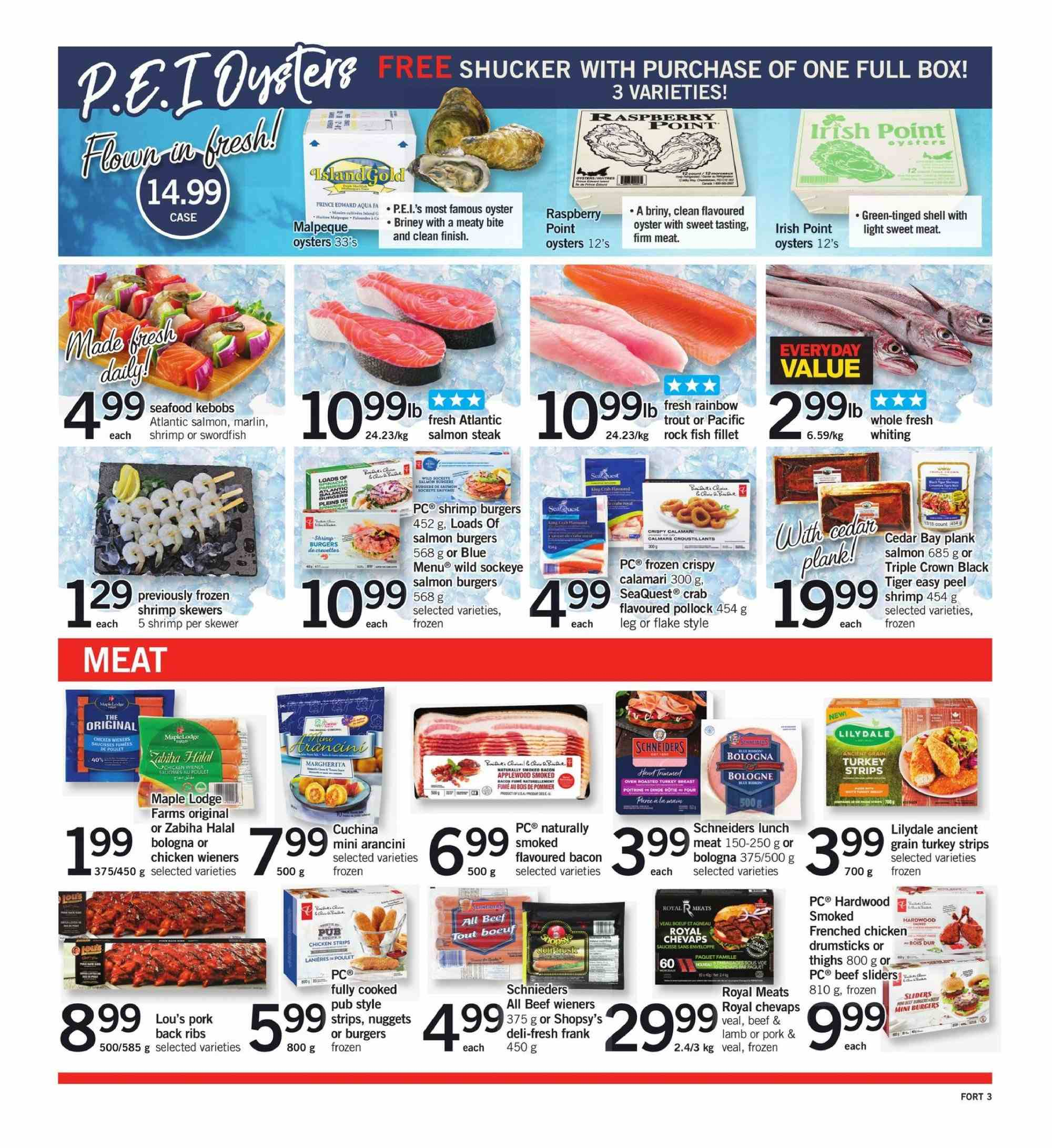 Fortinos Flyer  - August 30, 2018 - September 05, 2018. Page 3.