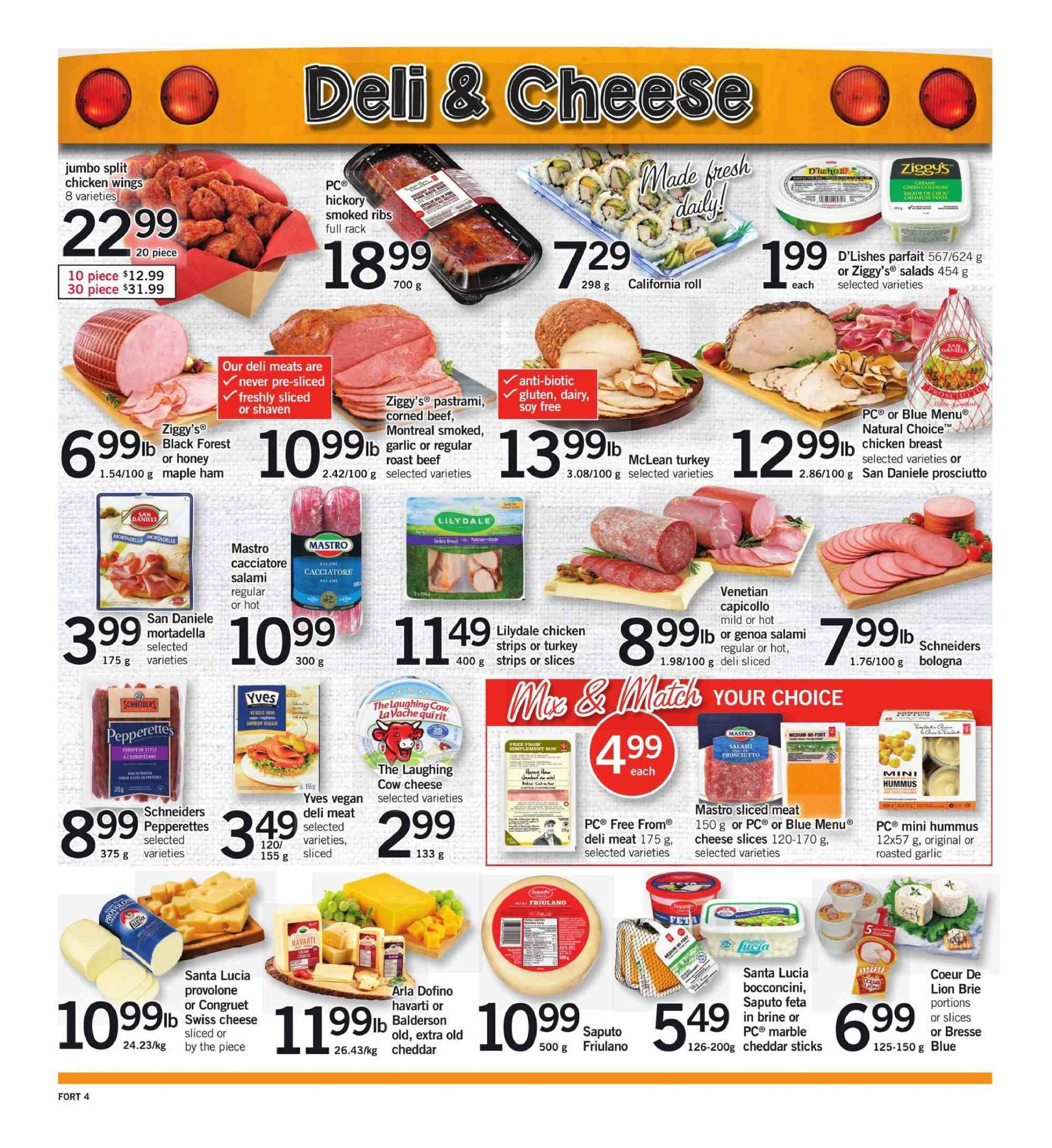 Fortinos Flyer  - August 30, 2018 - September 05, 2018. Page 4.