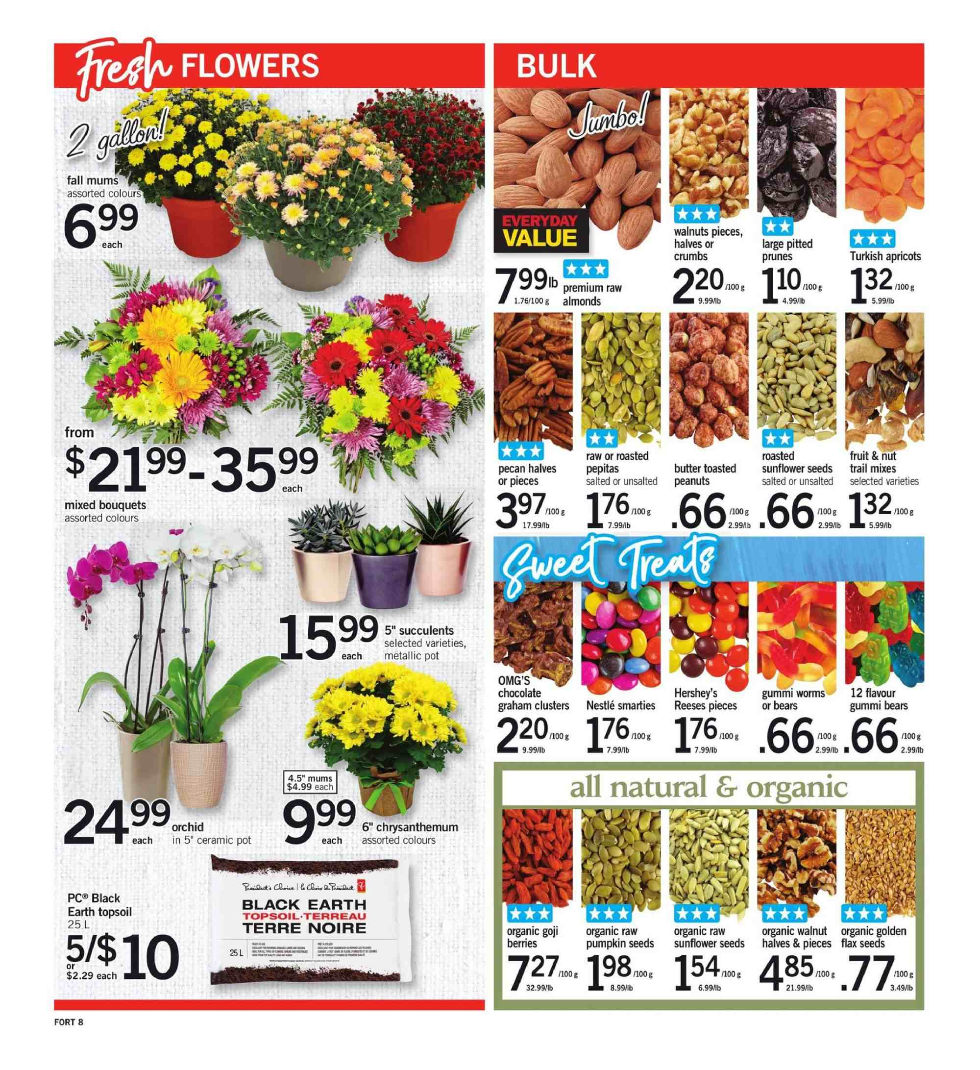 Fortinos Flyer  - August 30, 2018 - September 05, 2018. Page 8.