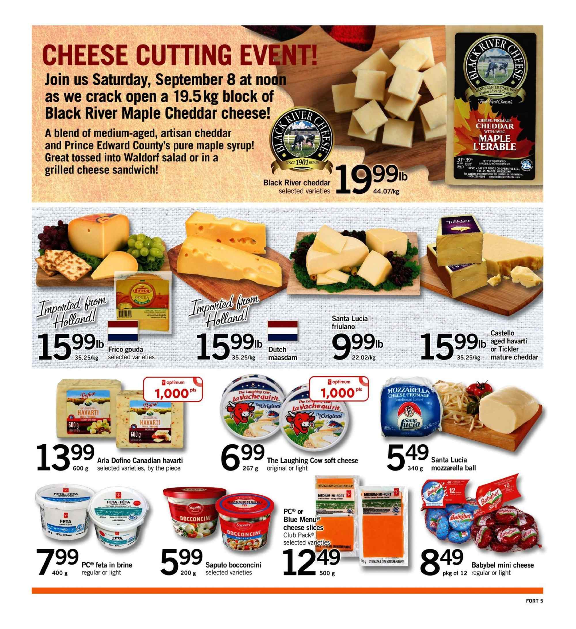 Fortinos Flyer  - September 06, 2018 - September 12, 2018. Page 5.