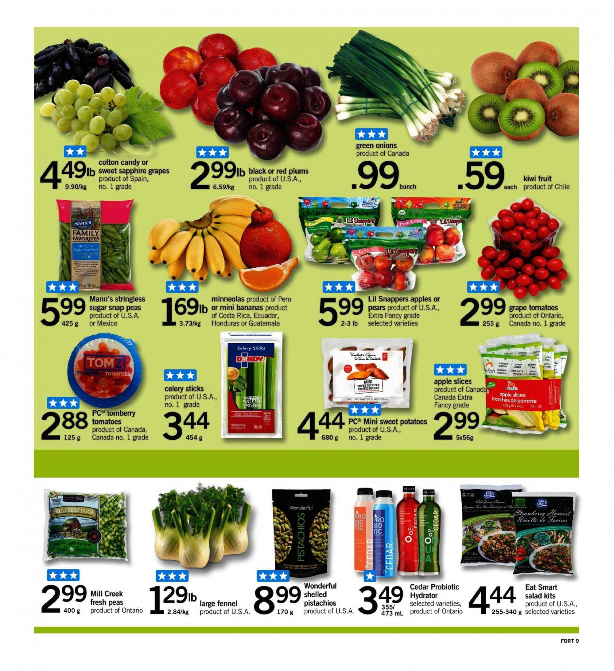 Fortinos Flyer  - September 06, 2018 - September 12, 2018. Page 9.