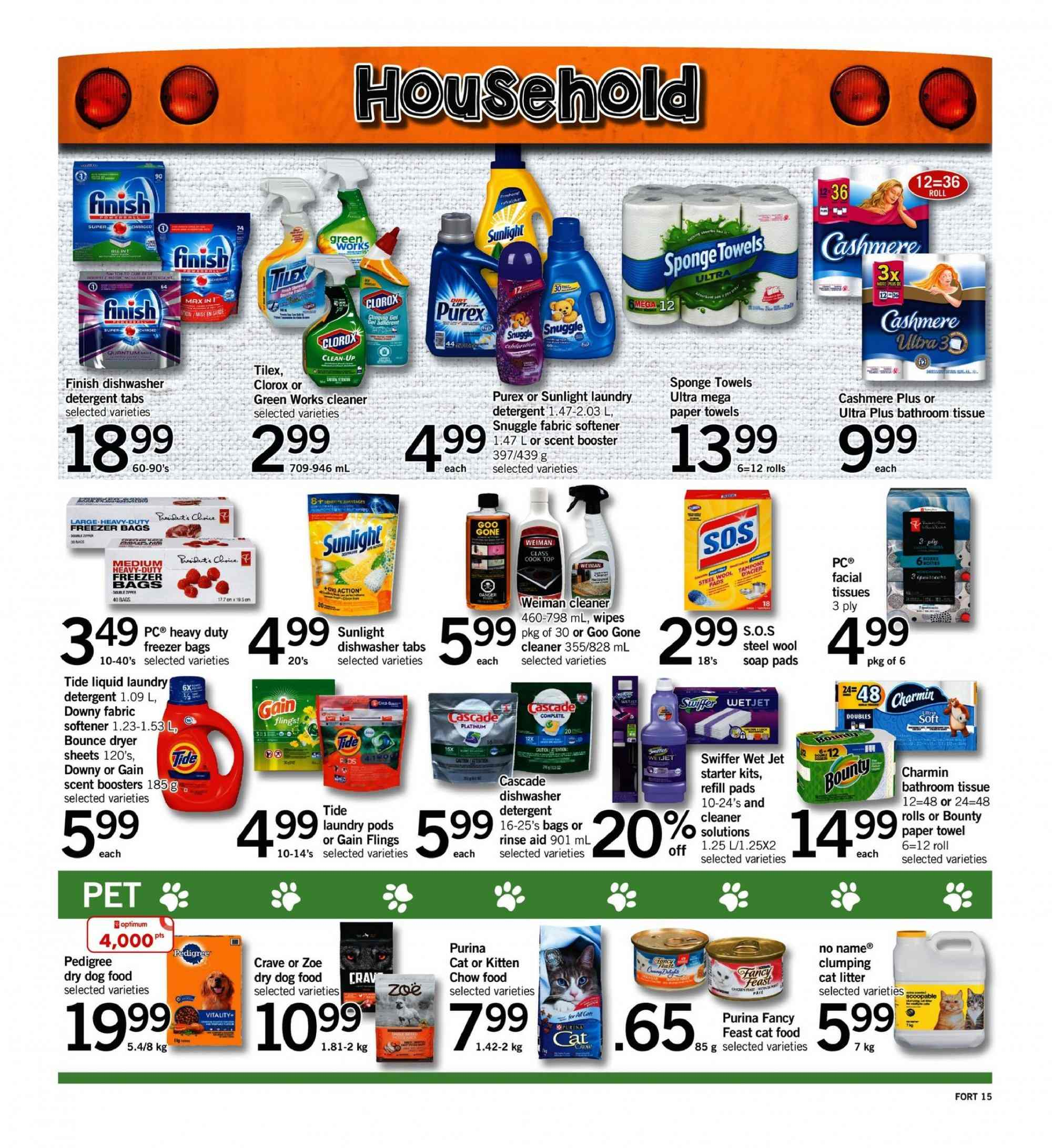Fortinos Flyer  - September 06, 2018 - September 12, 2018. Page 15.