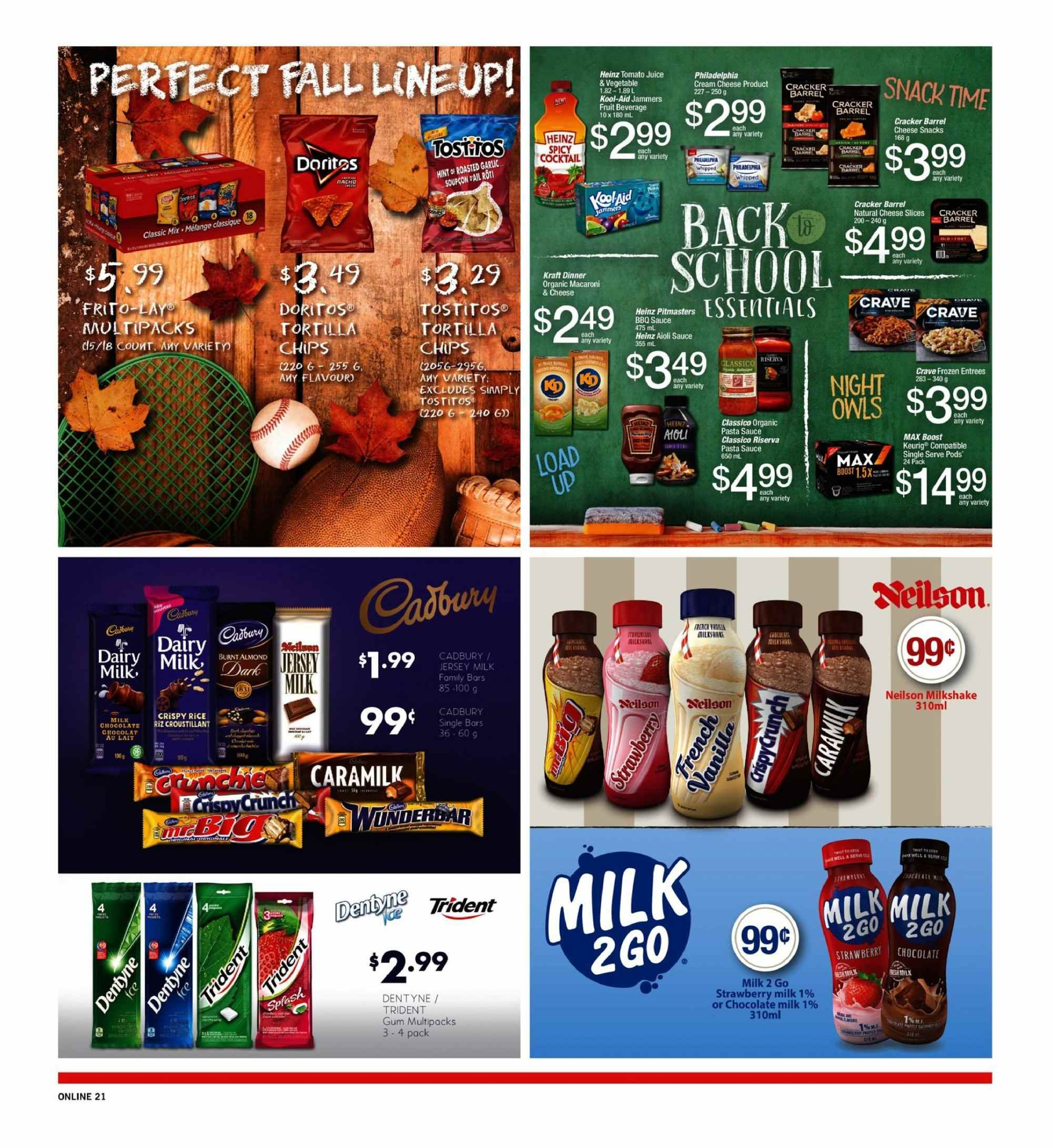 Fortinos Flyer  - September 06, 2018 - September 12, 2018. Page 21.
