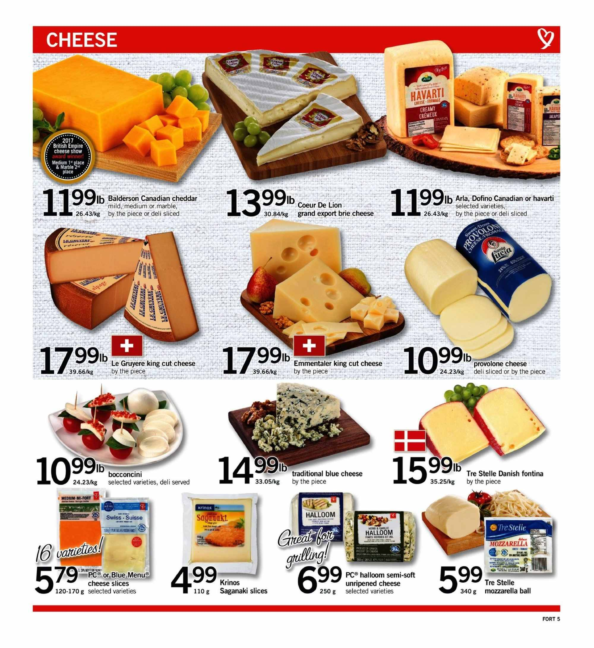Fortinos Flyer  - September 13, 2018 - September 19, 2018. Page 5.