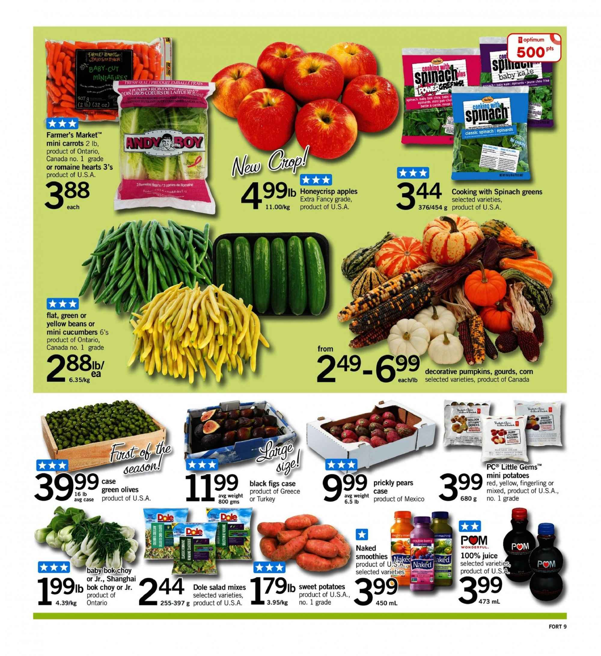 Fortinos Flyer  - September 13, 2018 - September 19, 2018. Page 9.