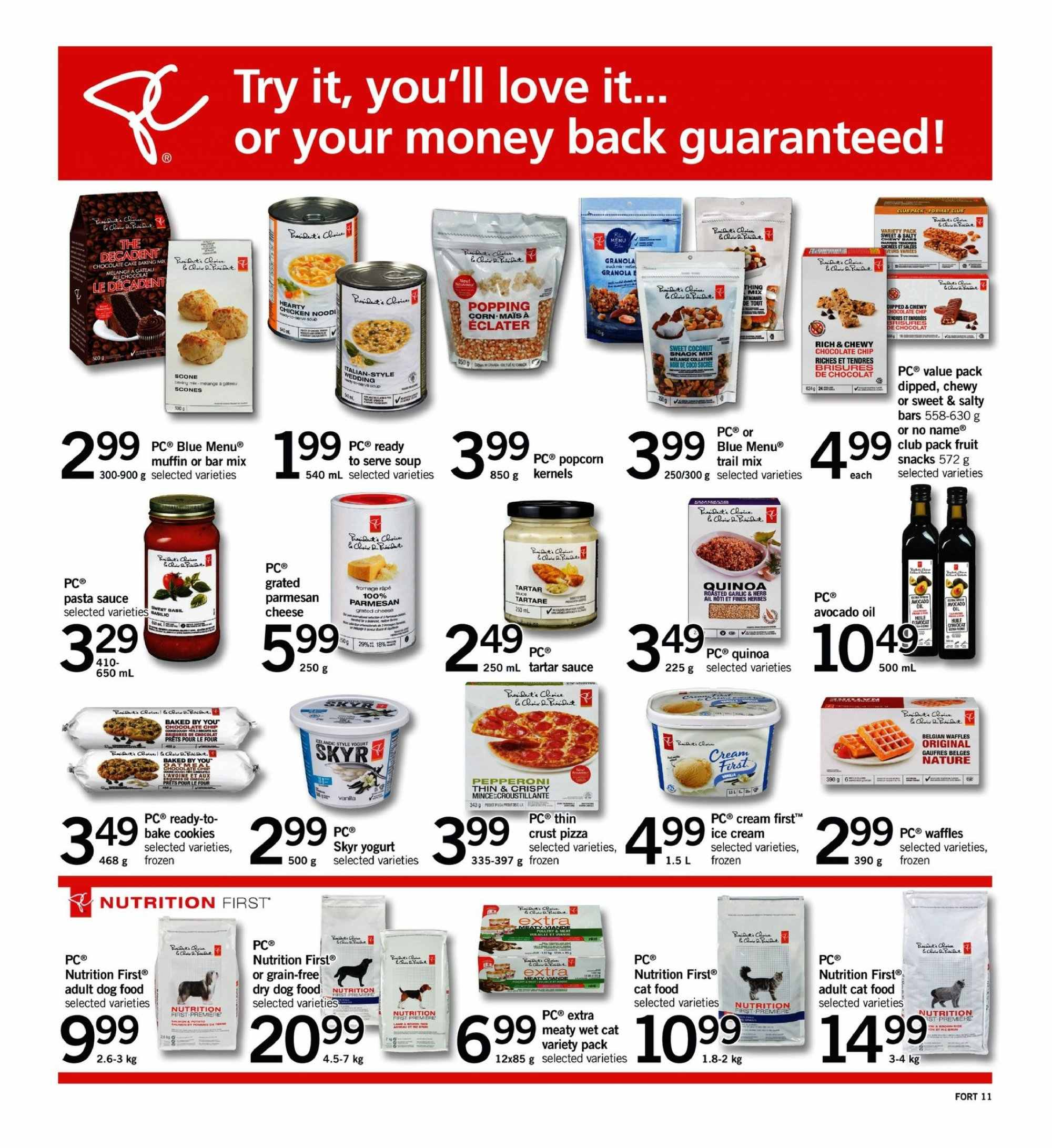 Fortinos Flyer  - September 13, 2018 - September 19, 2018. Page 11.