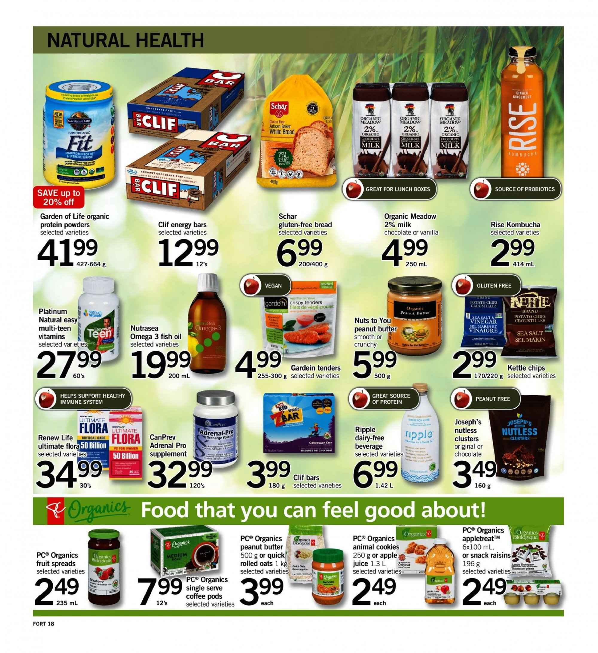 Fortinos Flyer  - September 13, 2018 - September 19, 2018. Page 18.