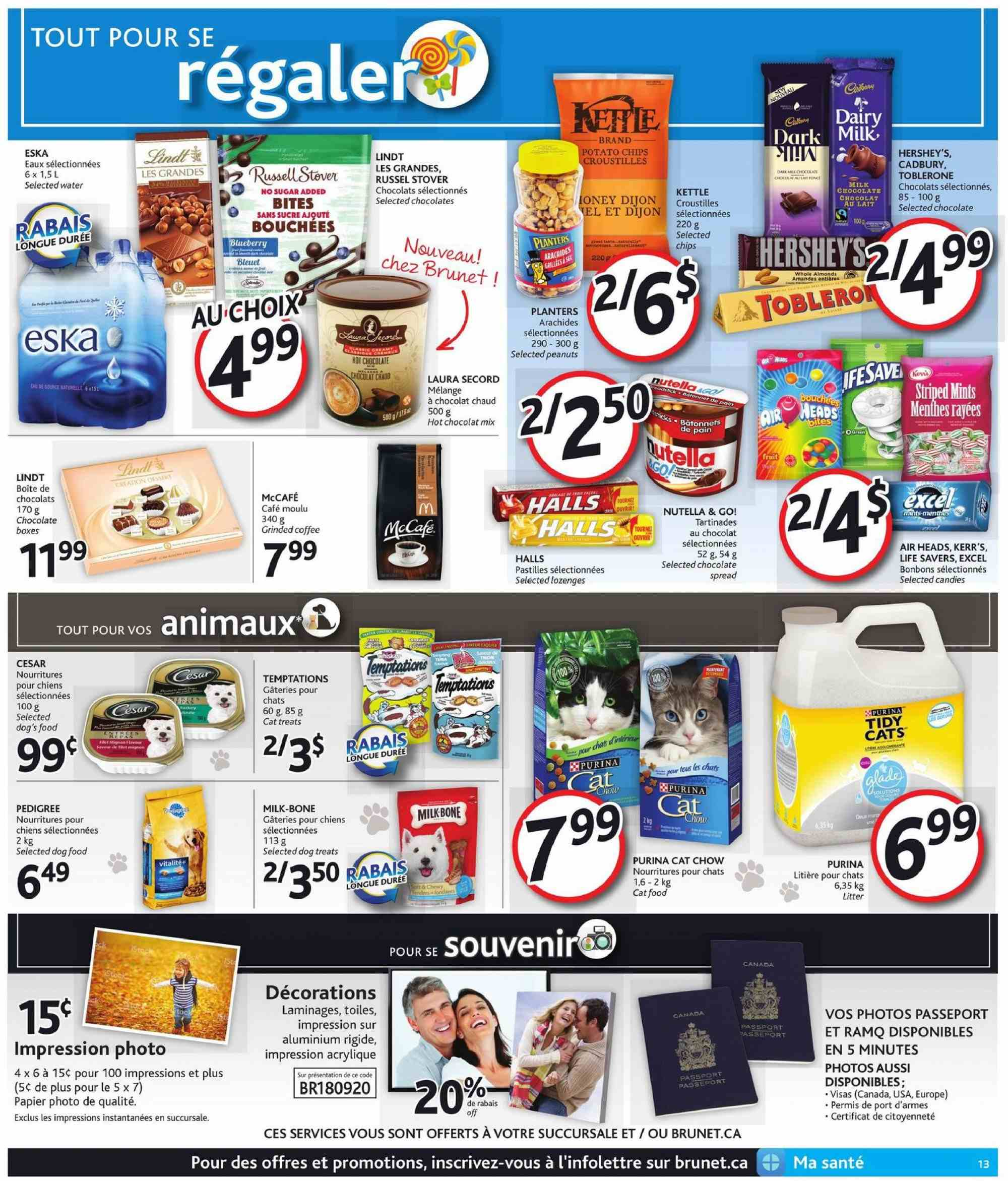 Brunet Flyer  - September 20, 2018 - September 26, 2018. Page 13.