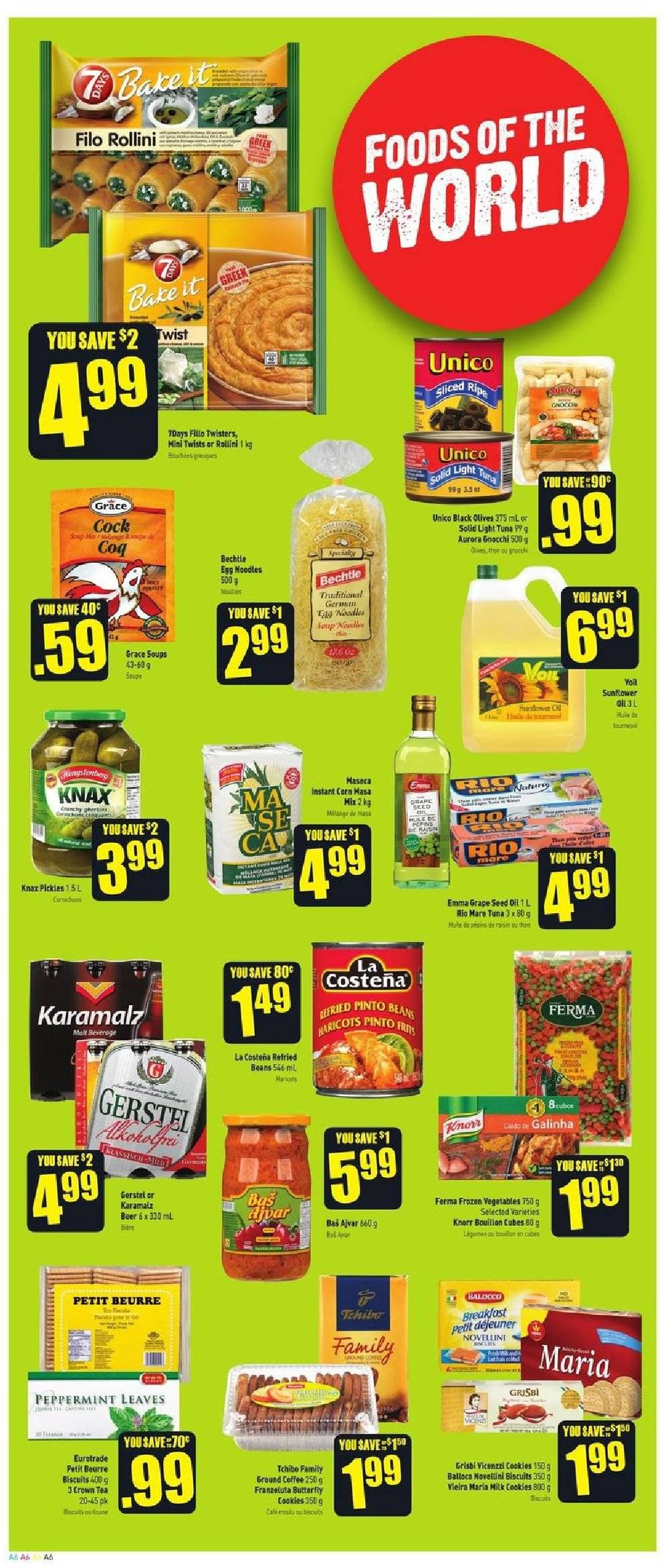 FreshCo. Flyer  - September 20, 2018 - September 26, 2018. Page 6.