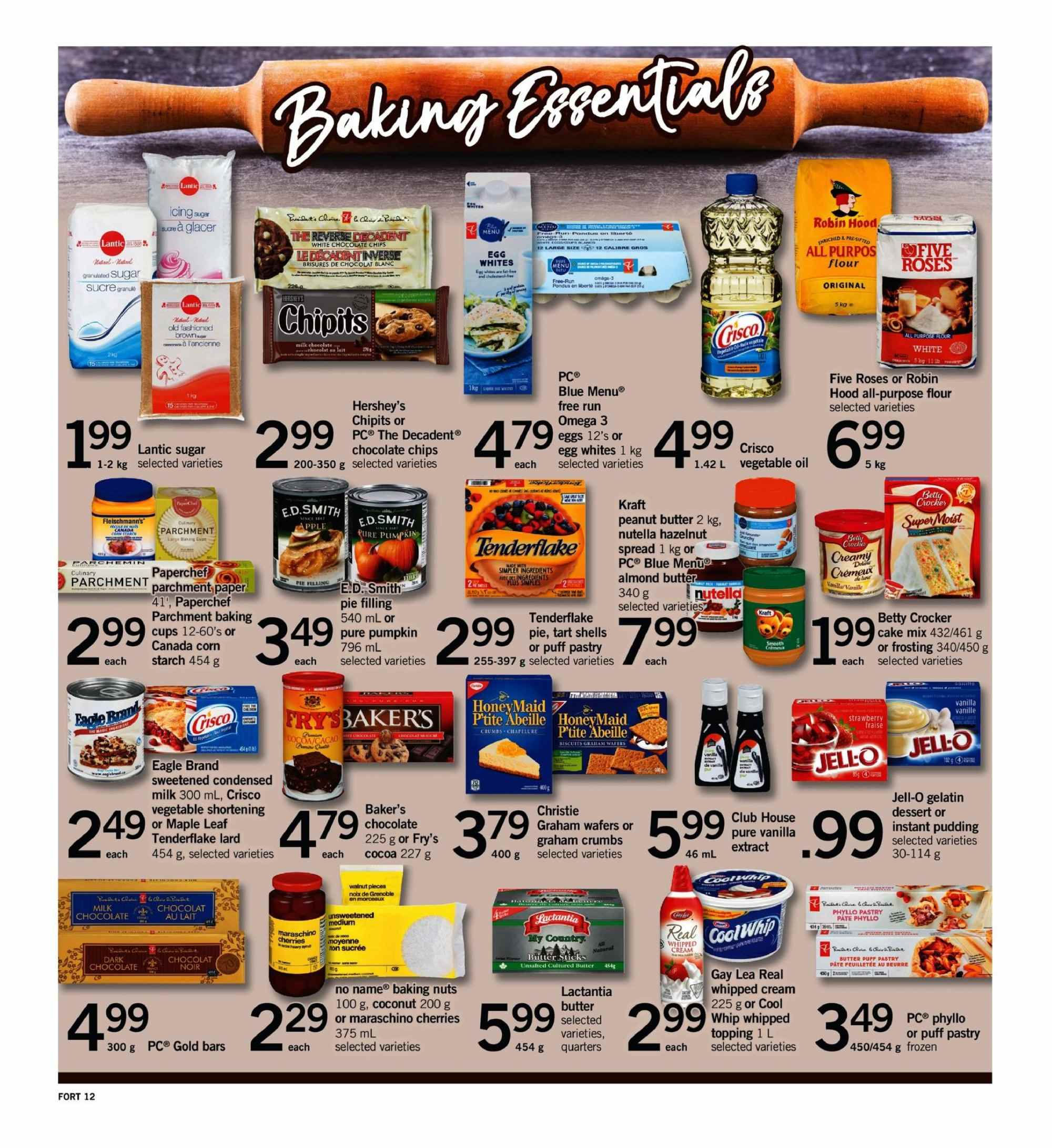 Fortinos Flyer  - September 20, 2018 - September 26, 2018. Page 12.