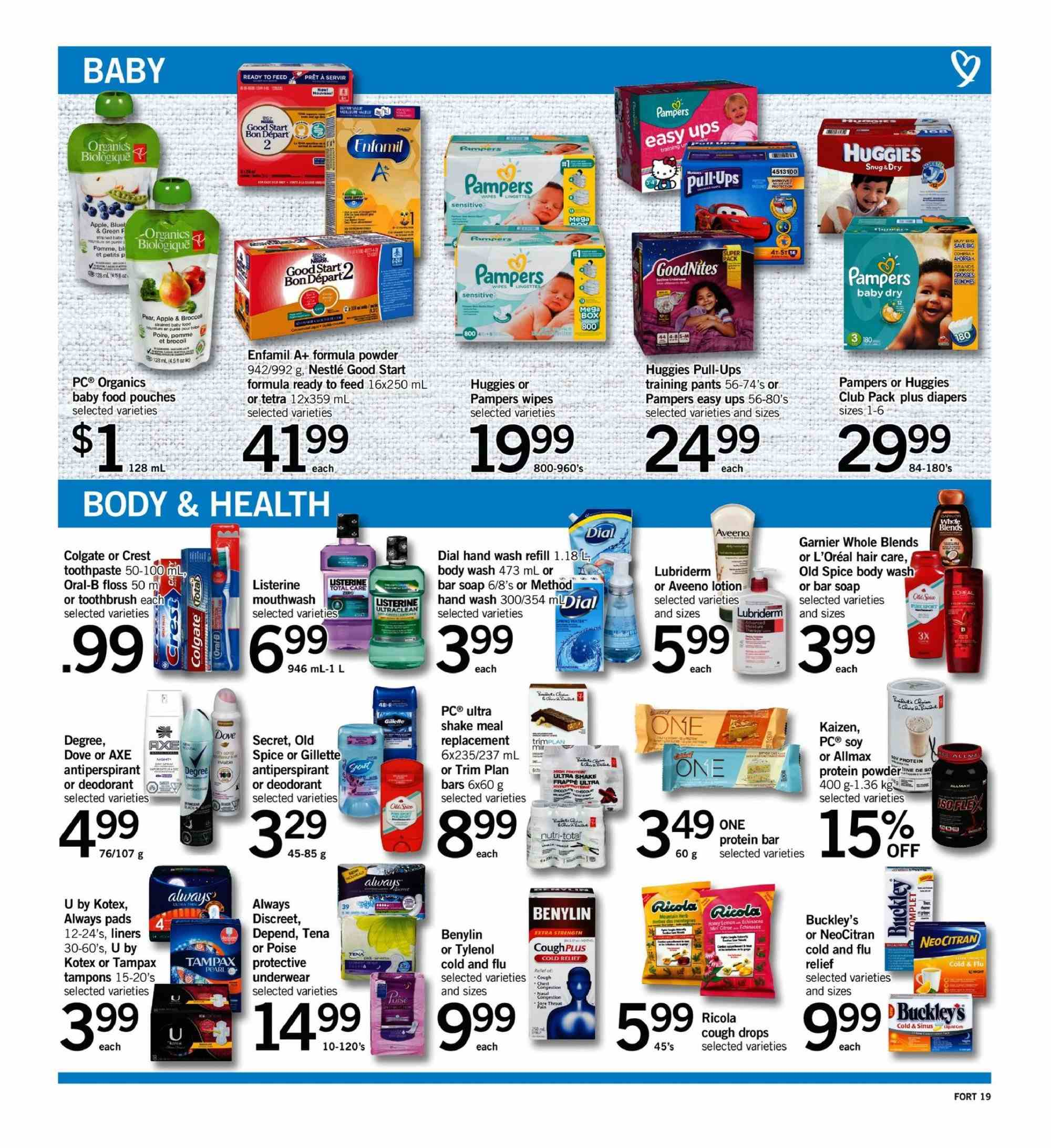Fortinos Flyer  - September 20, 2018 - September 26, 2018. Page 19.