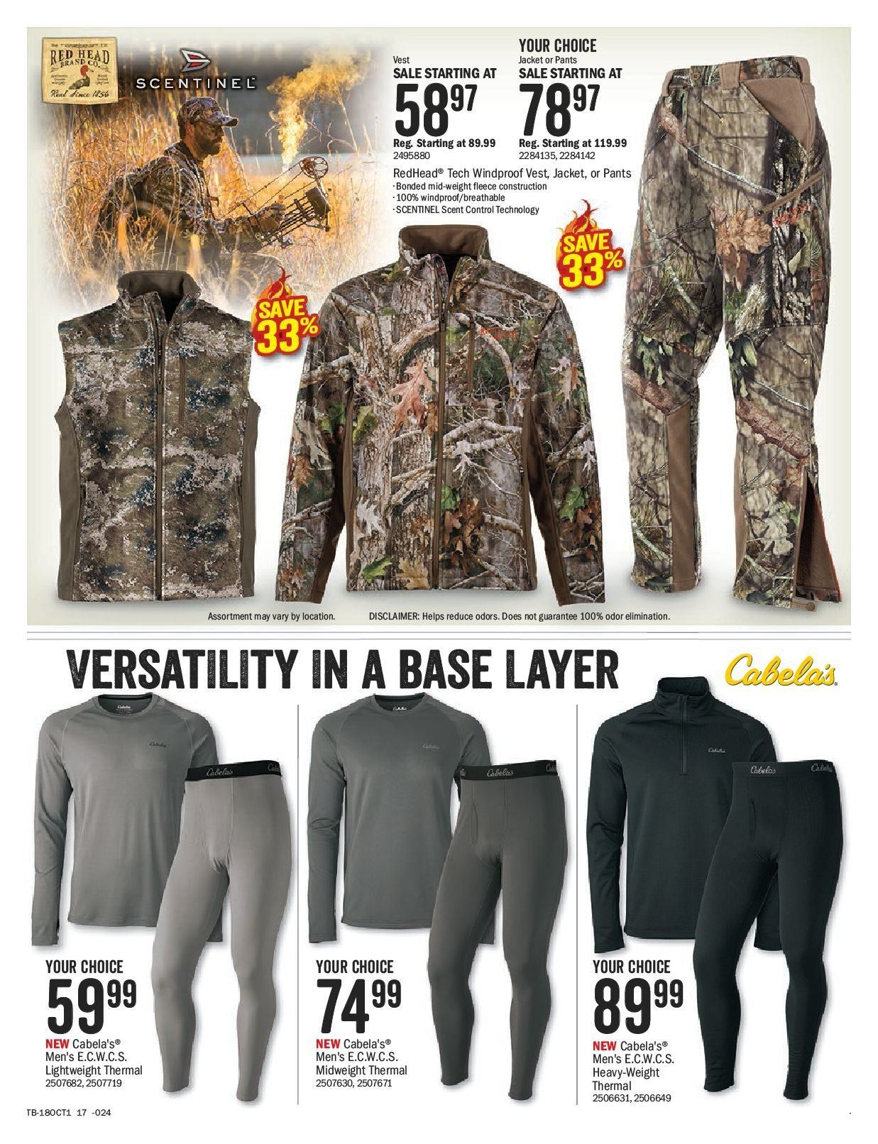 Bass Pro Shops Flyer  - September 21, 2018 - October 07, 2018. Page 17.