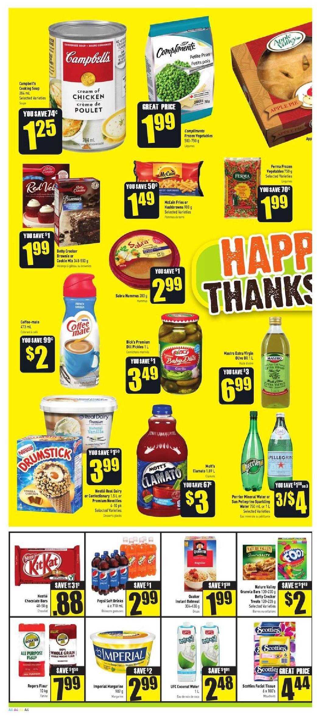 FreshCo. Flyer  - September 27, 2018 - October 03, 2018. Page 4.