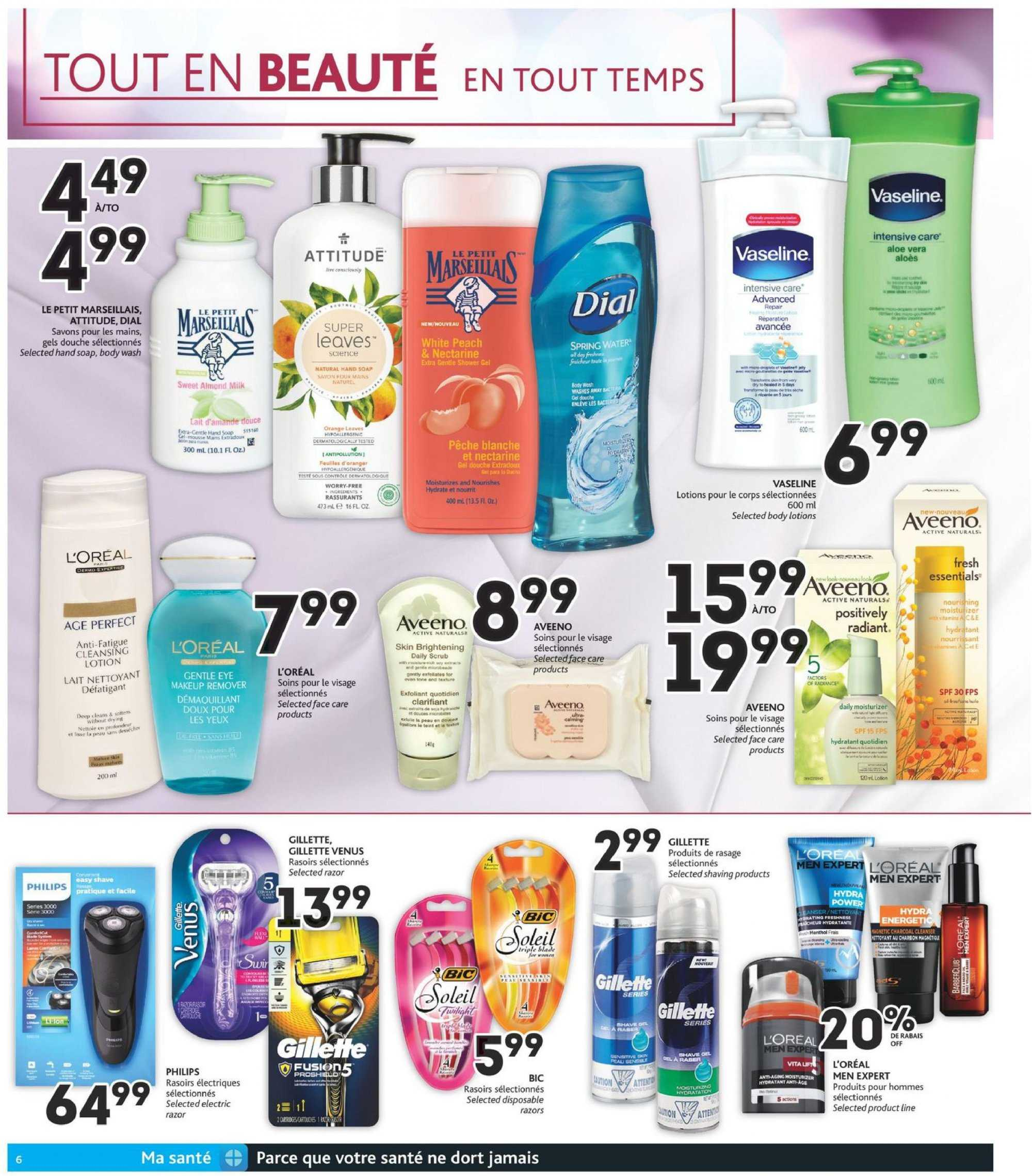 Brunet Flyer - October 04, 2018 - October 10, 2018 - Sales products - water, essentials. Page 6.