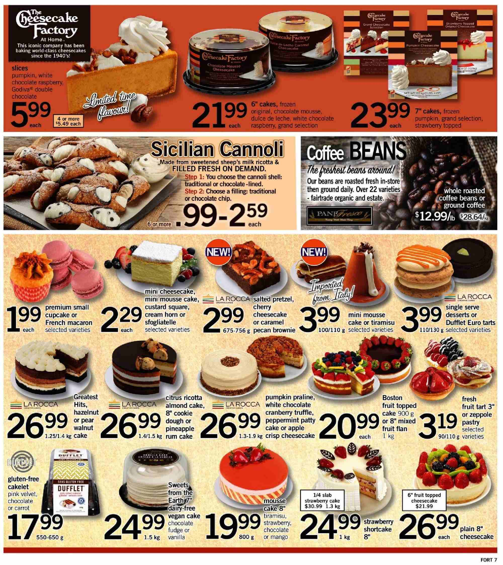 Fortinos Flyer  - October 04, 2018 - October 07, 2018. Page 7.