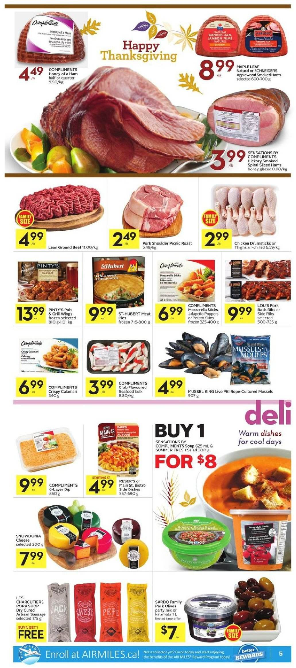 Foodland Flyer  - October 04, 2018 - October 10, 2018. Page 5.