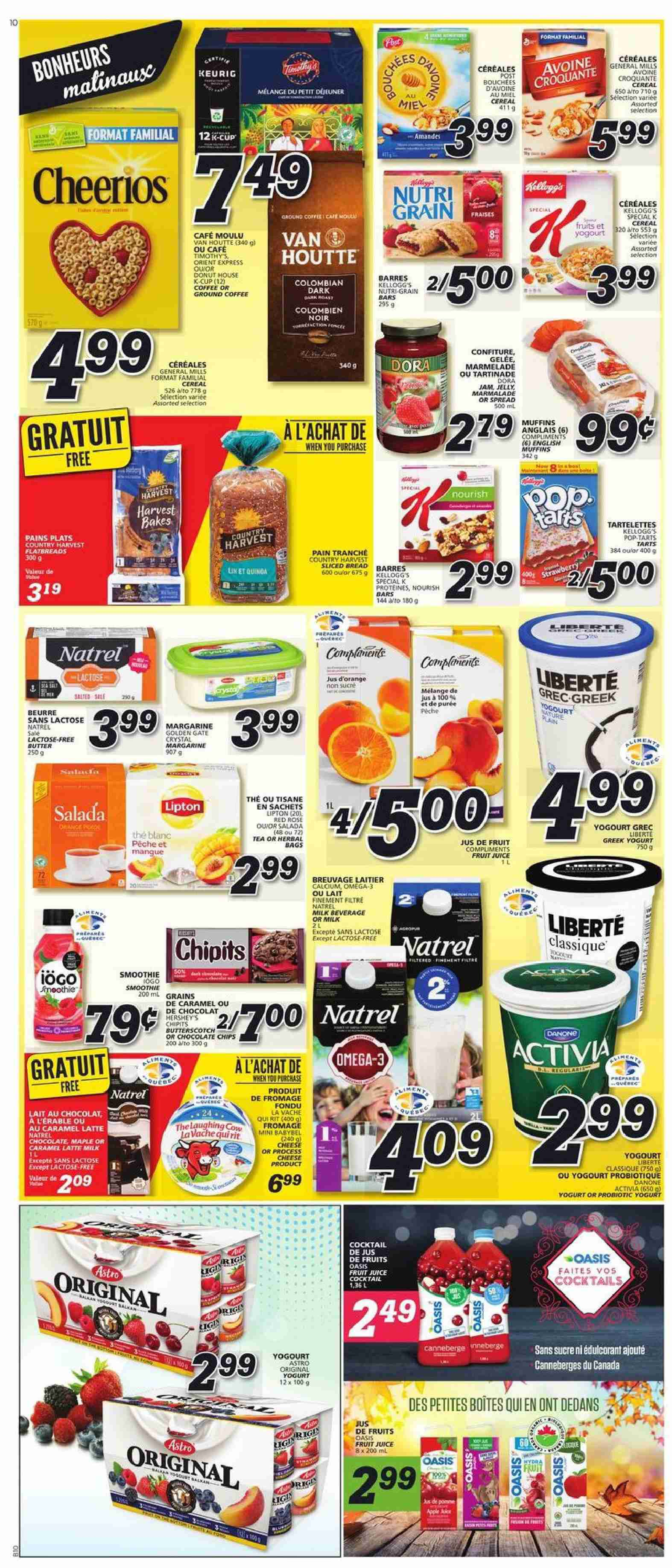 IGA Flyer  - October 11, 2018 - October 17, 2018. Page 9.