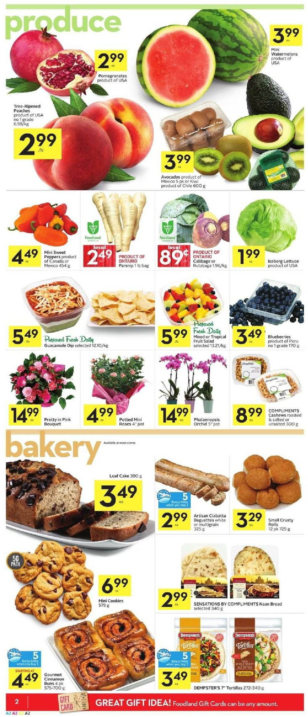 Foodland Flyer  - October 11, 2018 - October 17, 2018. Page 2.