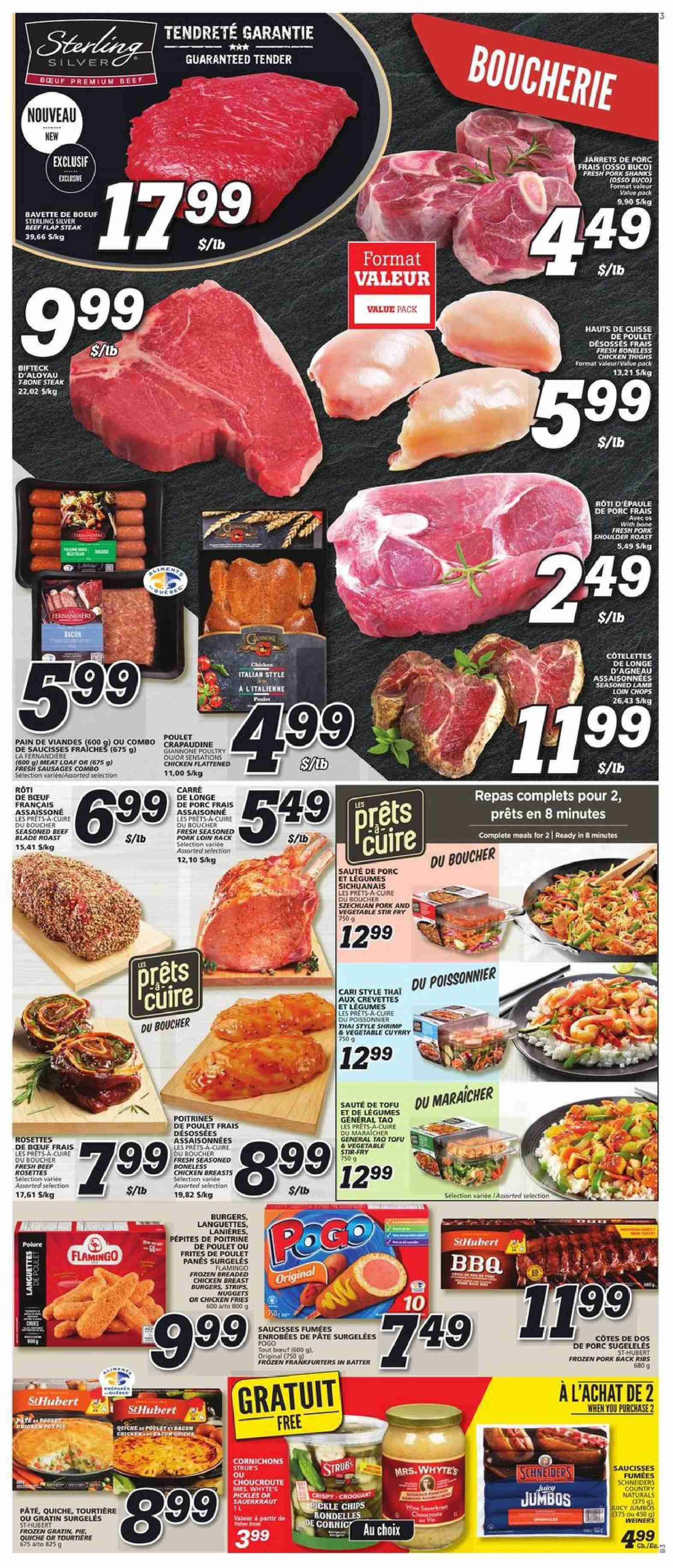 IGA Flyer  - October 18, 2018 - October 24, 2018. Page 3.