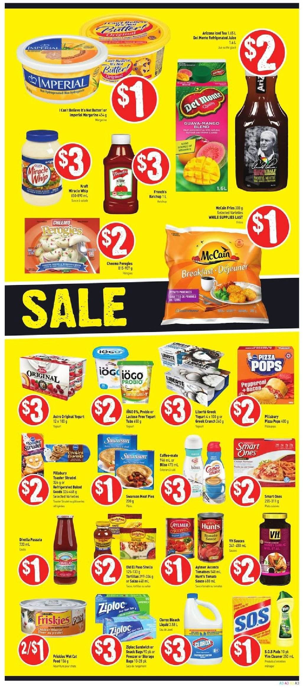 FreshCo. Flyer  - October 18, 2018 - October 24, 2018. Page 3.