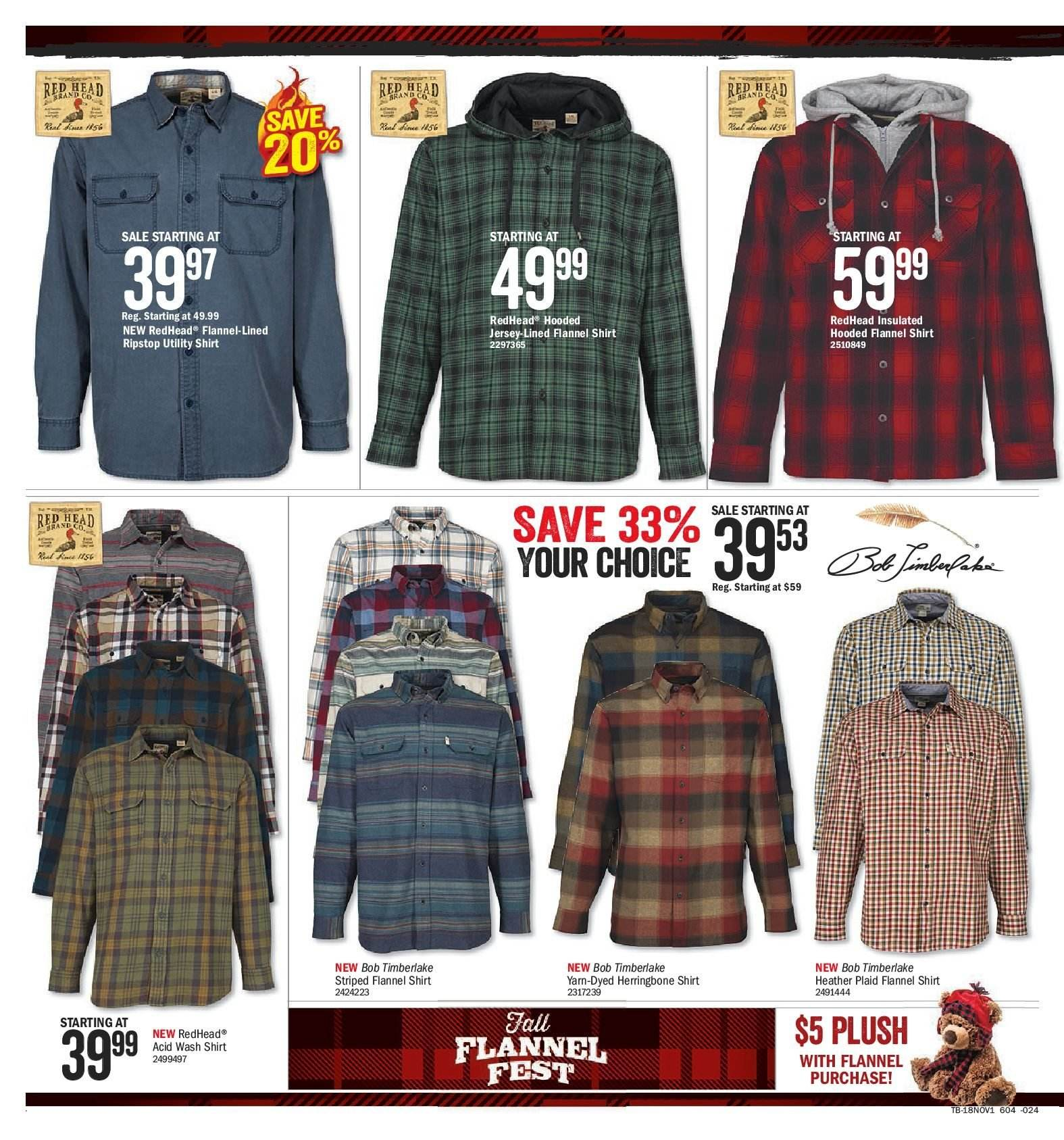 Bass Pro Shops Flyer  - October 19, 2018 - November 04, 2018. Page 18.