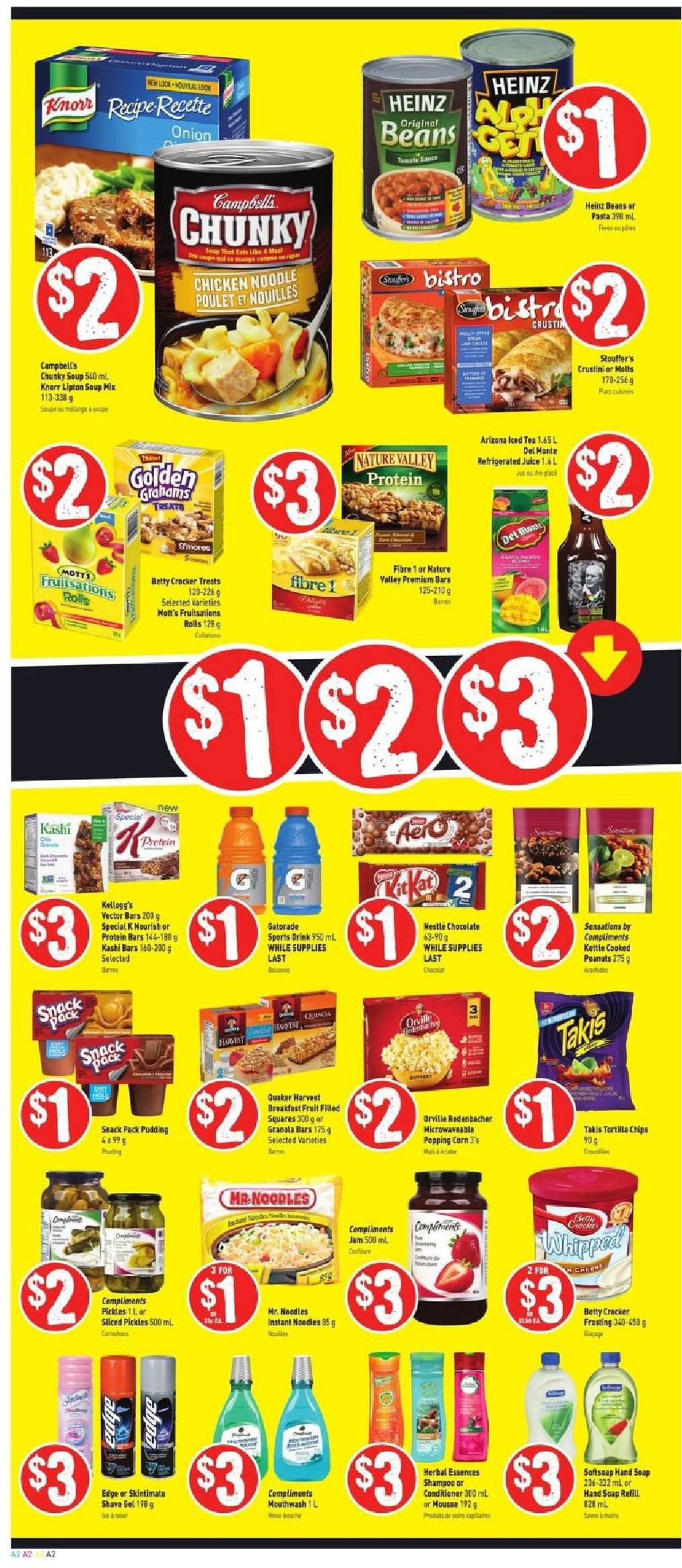 FreshCo. Flyer  - October 25, 2018 - October 31, 2018. Page 2.