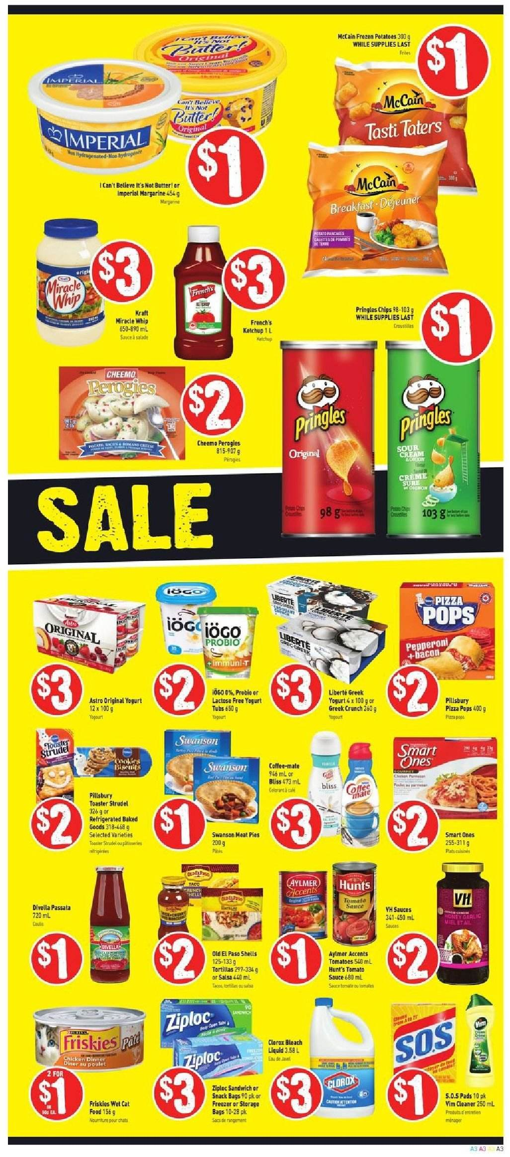 FreshCo. Flyer  - October 25, 2018 - October 31, 2018. Page 3.