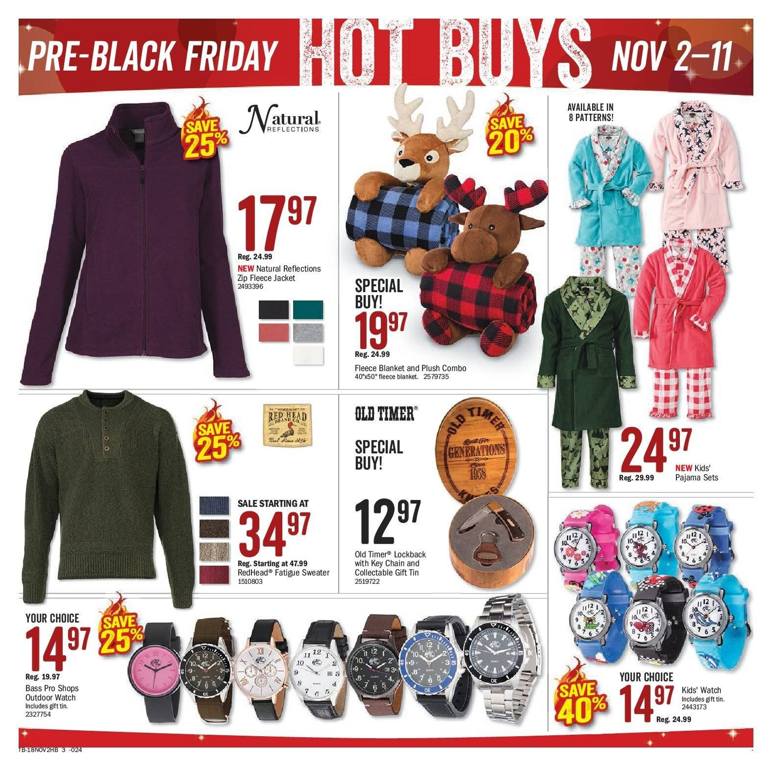 Bass Pro Shops Flyer  - November 02, 2018 - November 20, 2018. Page 3.