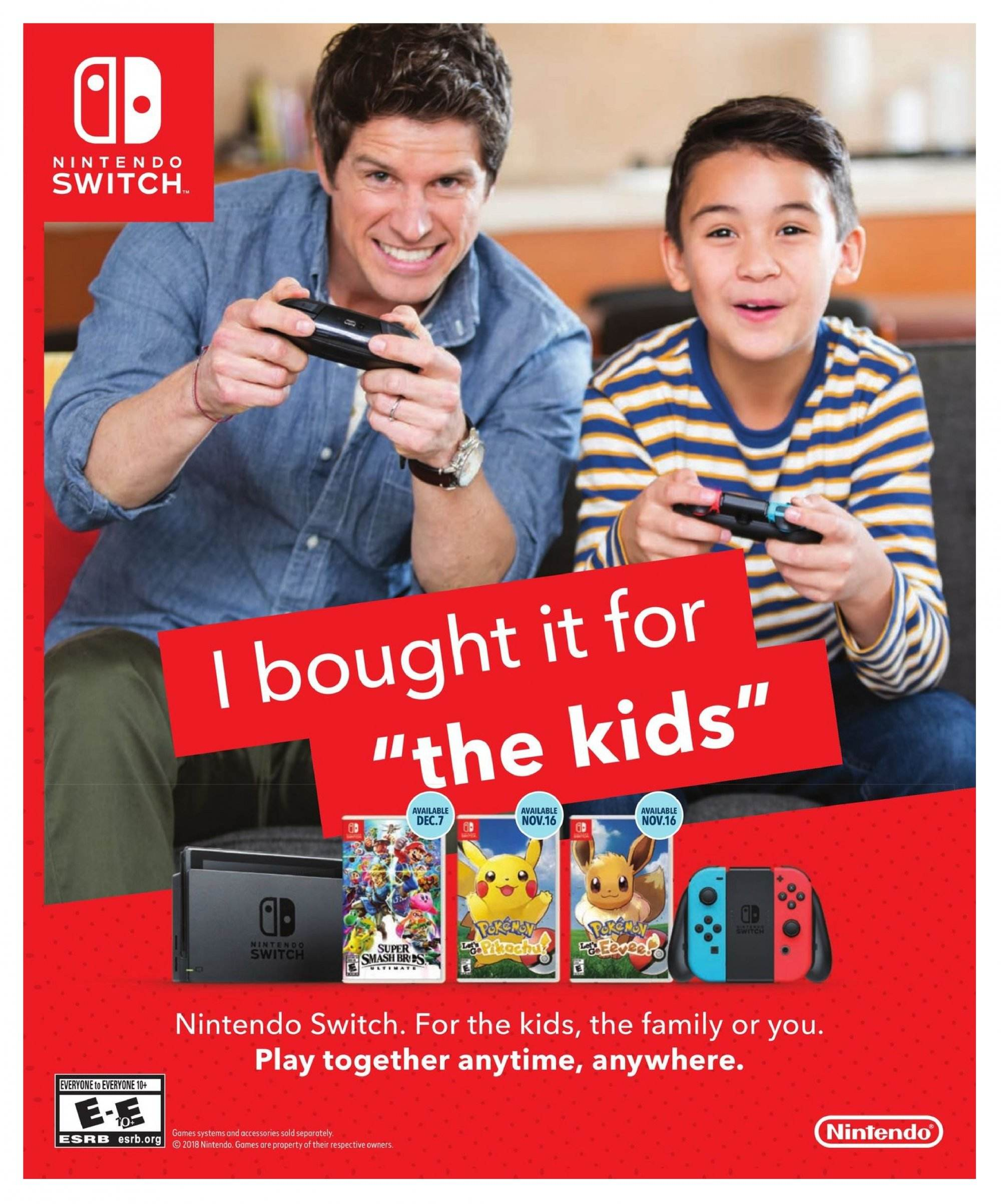 Best Buy Flyer  - November 02, 2018 - December 24, 2018. Page 1.