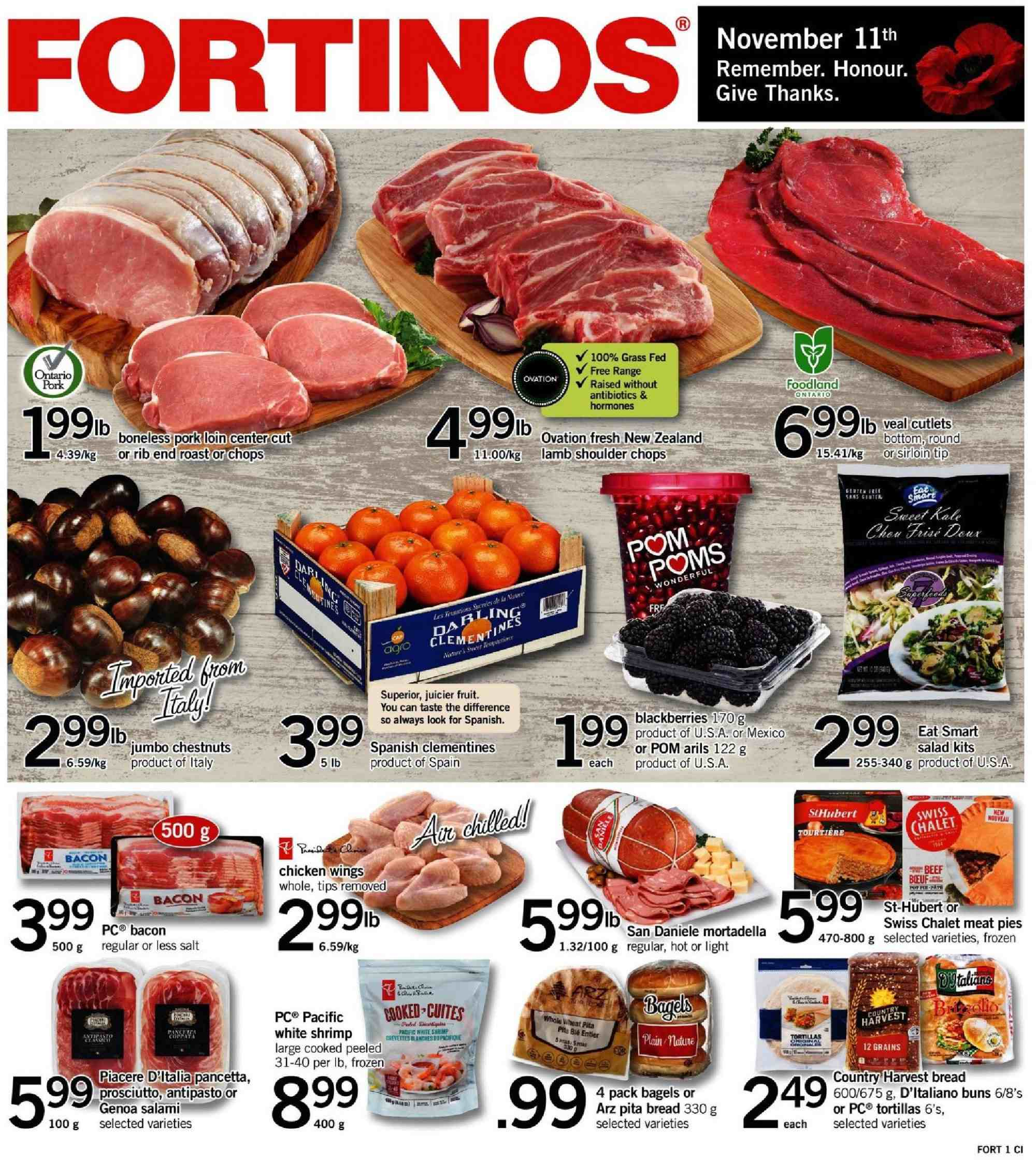 Current flyer Fortinos