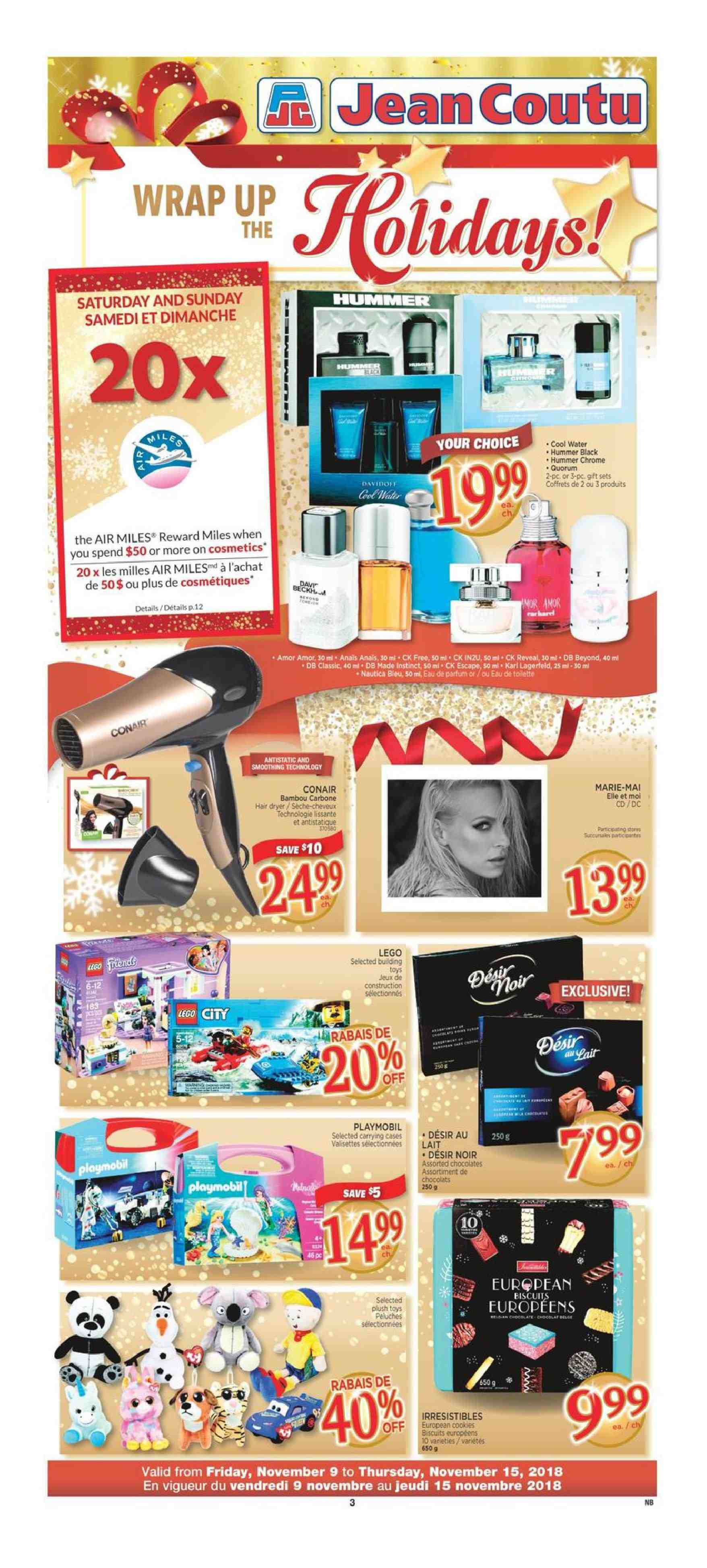 Current flyer Jean Coutu