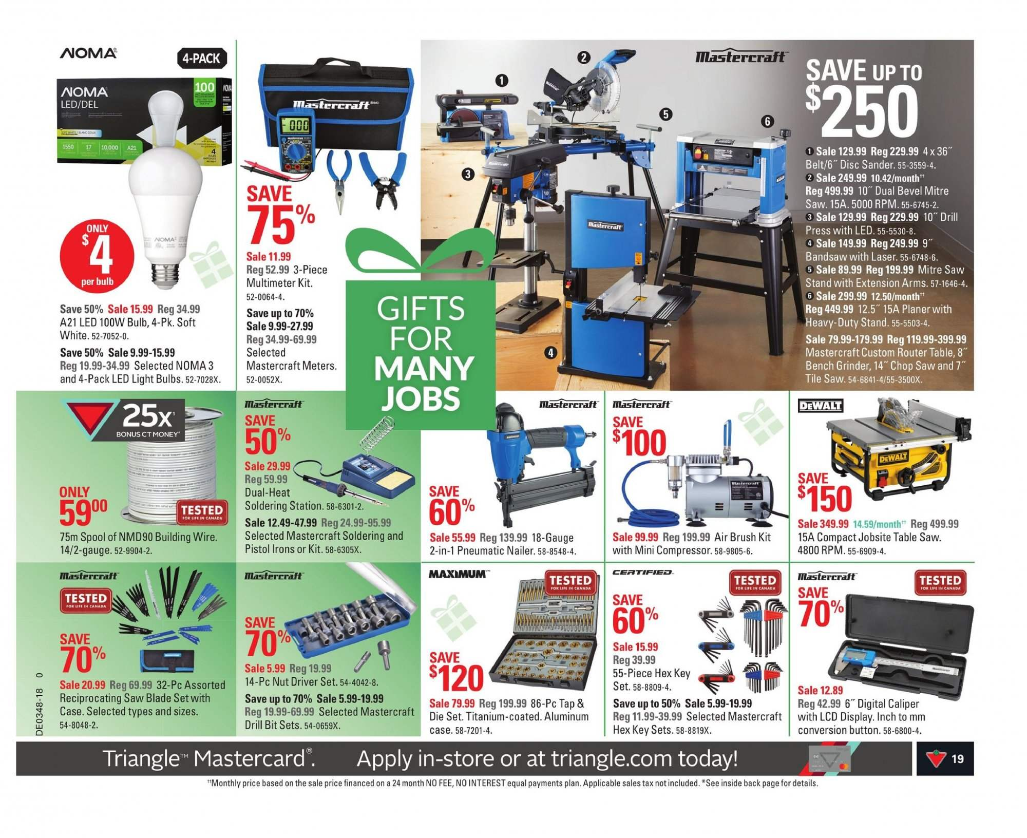 Canadian Tire Flyer  - November 23, 2018 - November 29, 2018. Page 19.