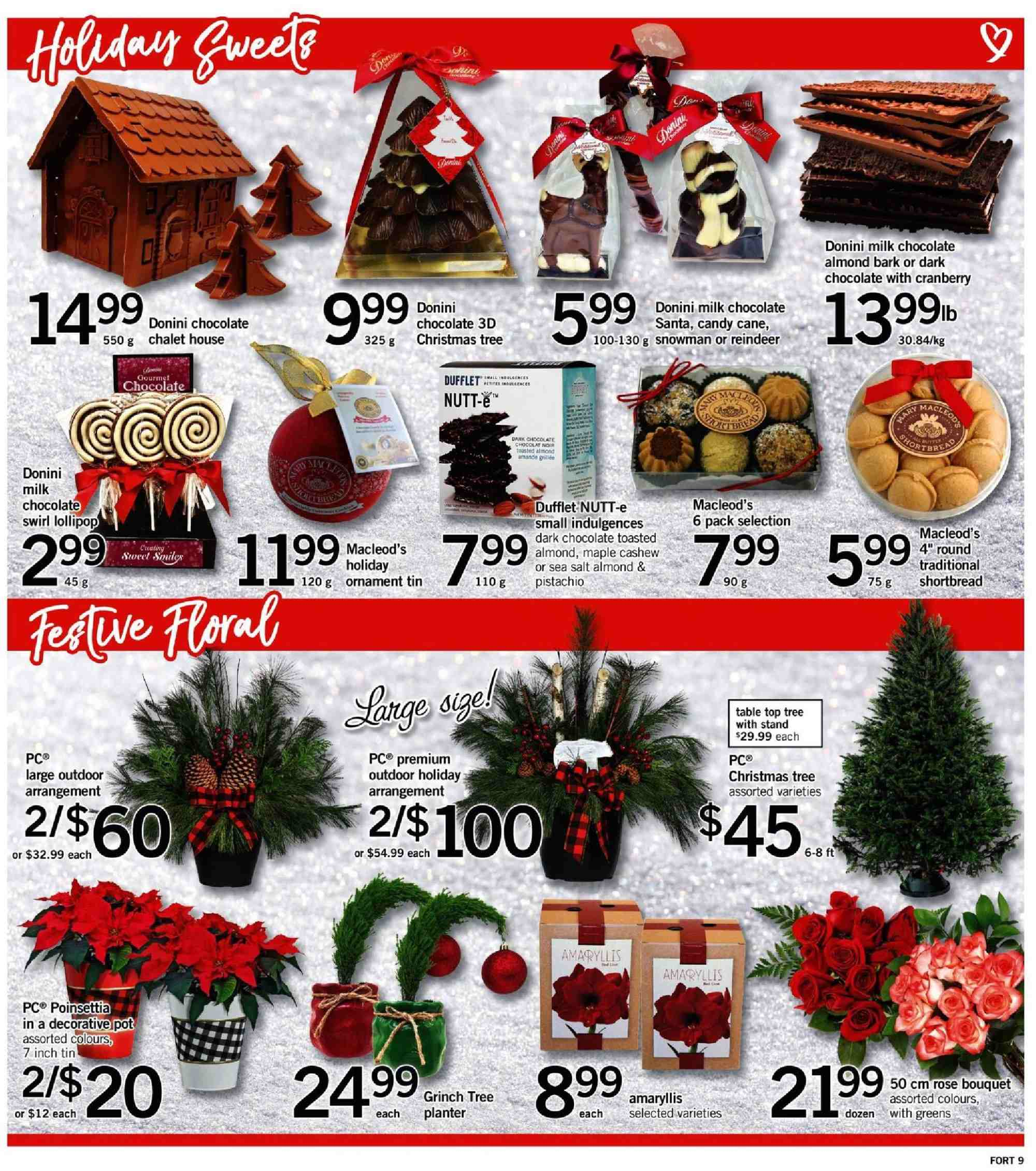 Fortinos Flyer  - November 29, 2018 - December 05, 2018. Page 10.