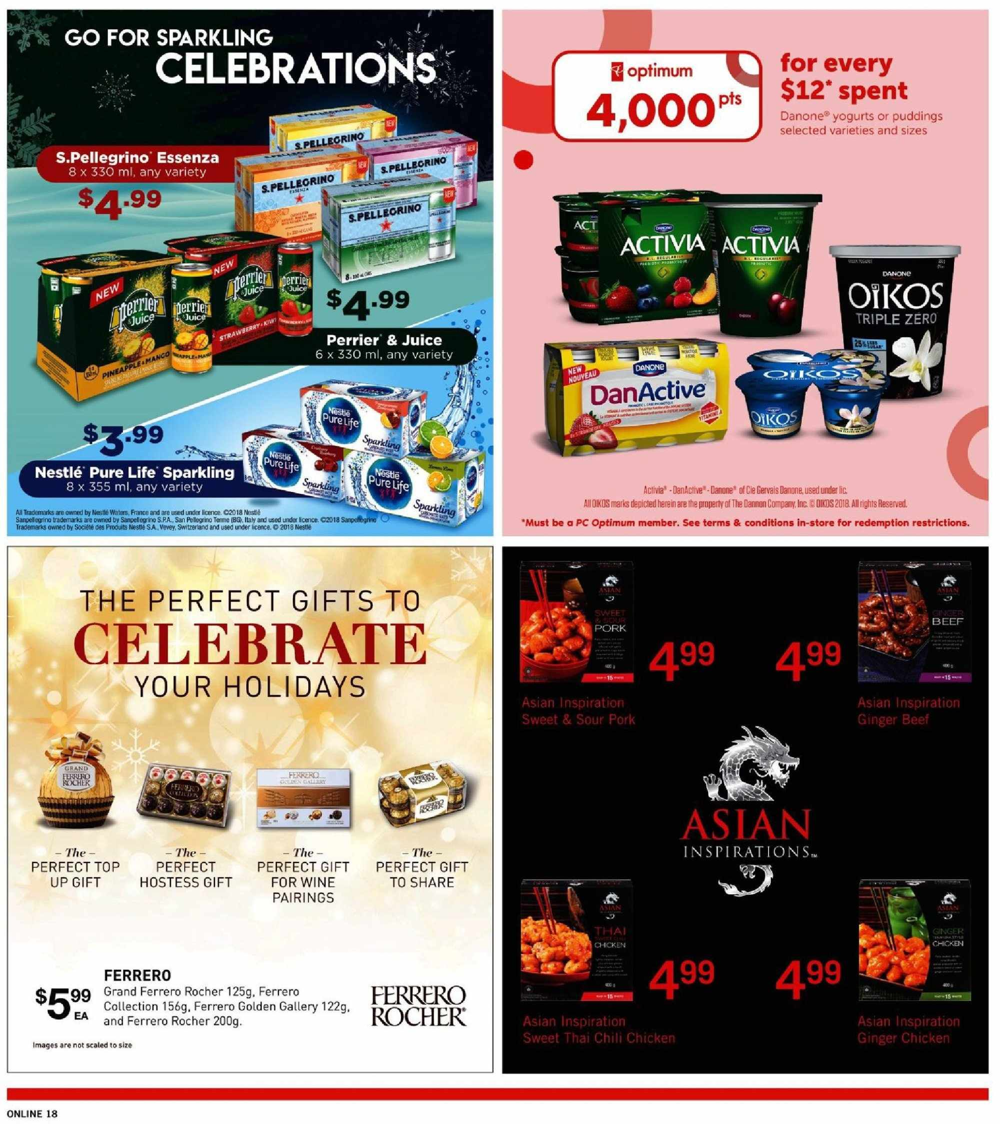 Fortinos Flyer  - November 29, 2018 - December 05, 2018. Page 18.