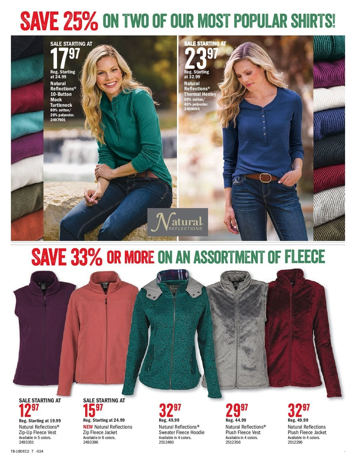 Bass Pro Shops Flyer  - December 02, 2018 - December 24, 2018. Page 7.
