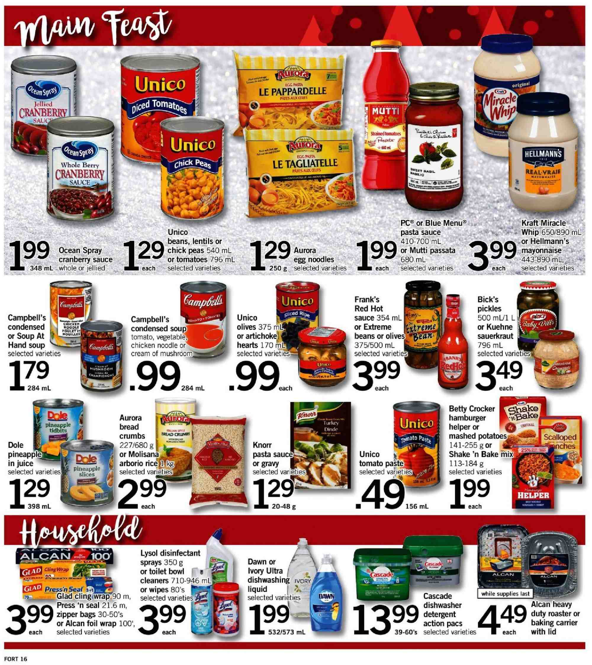 Fortinos Flyer  - December 13, 2018 - December 19, 2018. Page 17.