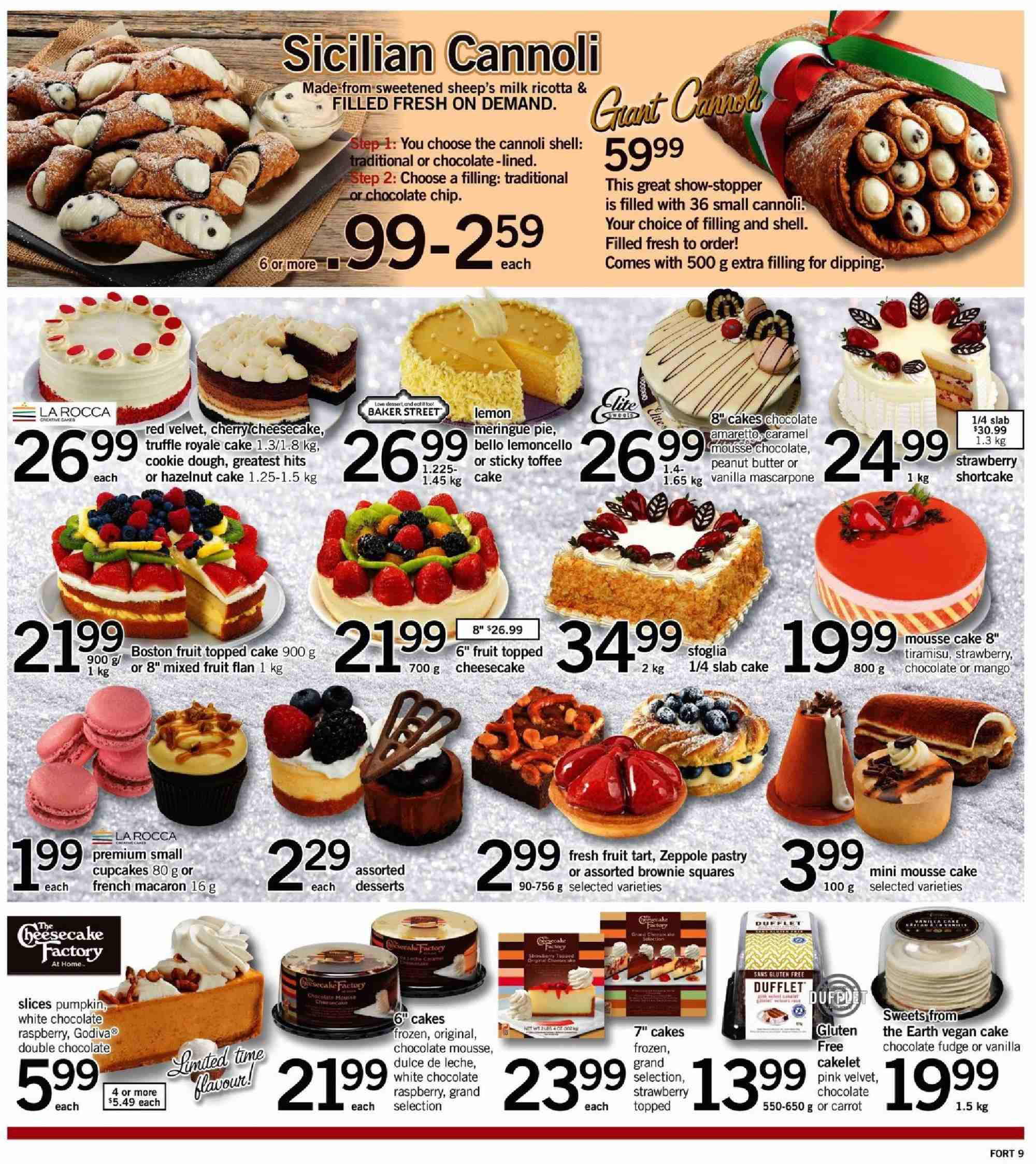 Fortinos Flyer  - December 20, 2018 - December 26, 2018. Page 10.