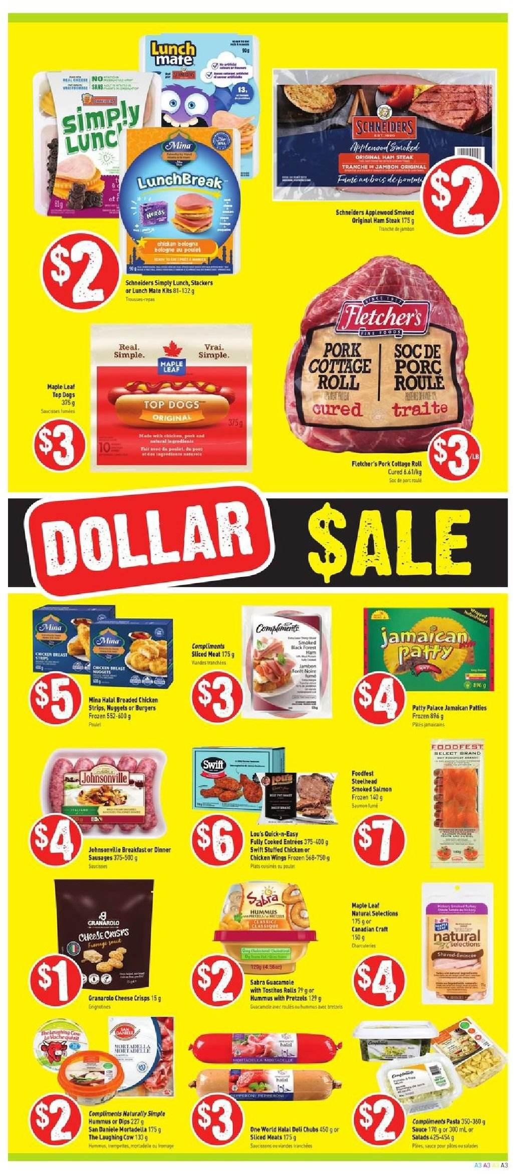 FreshCo. Flyer  - January 03, 2019 - January 09, 2019. Page 3.