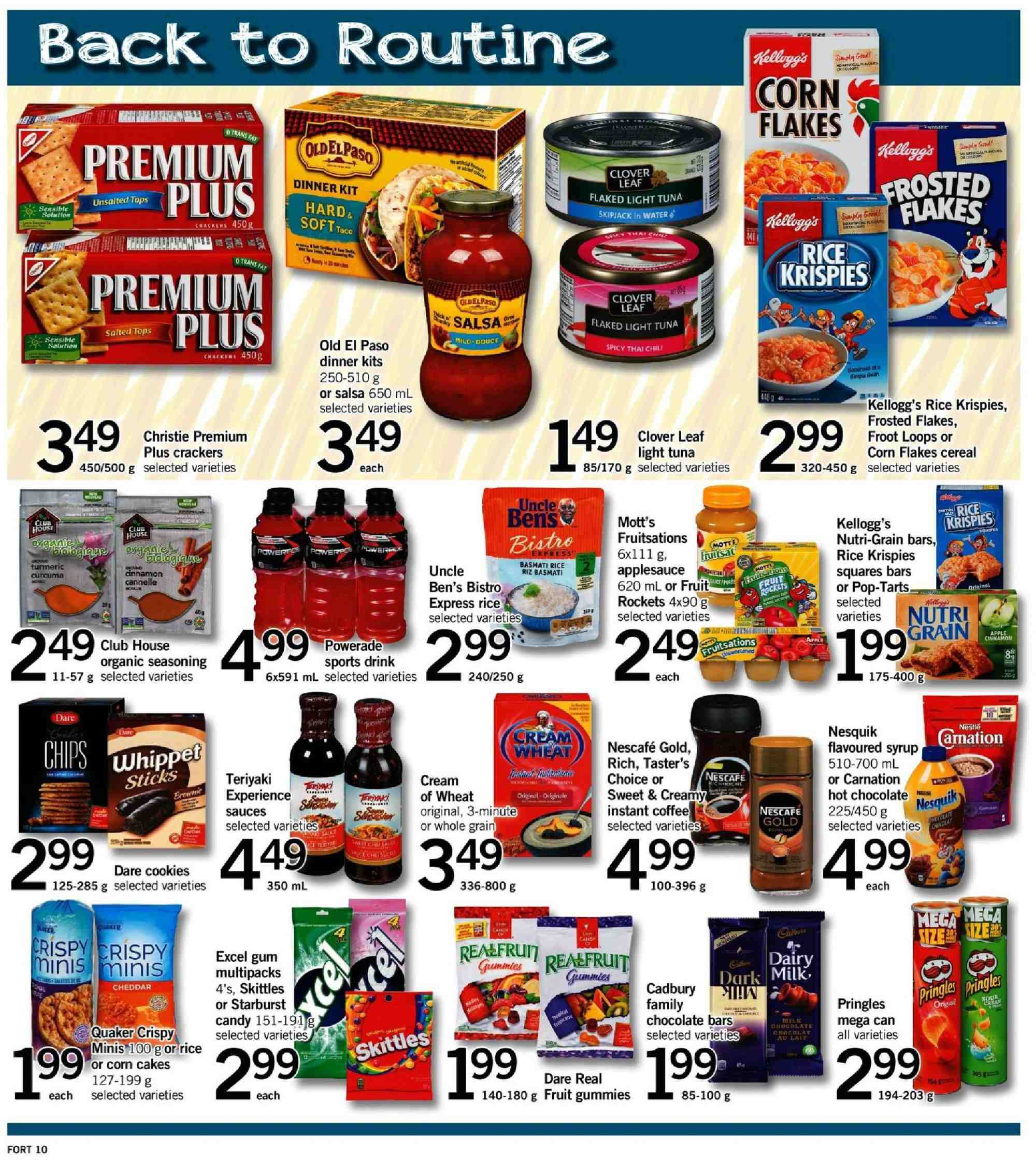 Fortinos Flyer  - January 03, 2019 - January 09, 2019. Page 11.