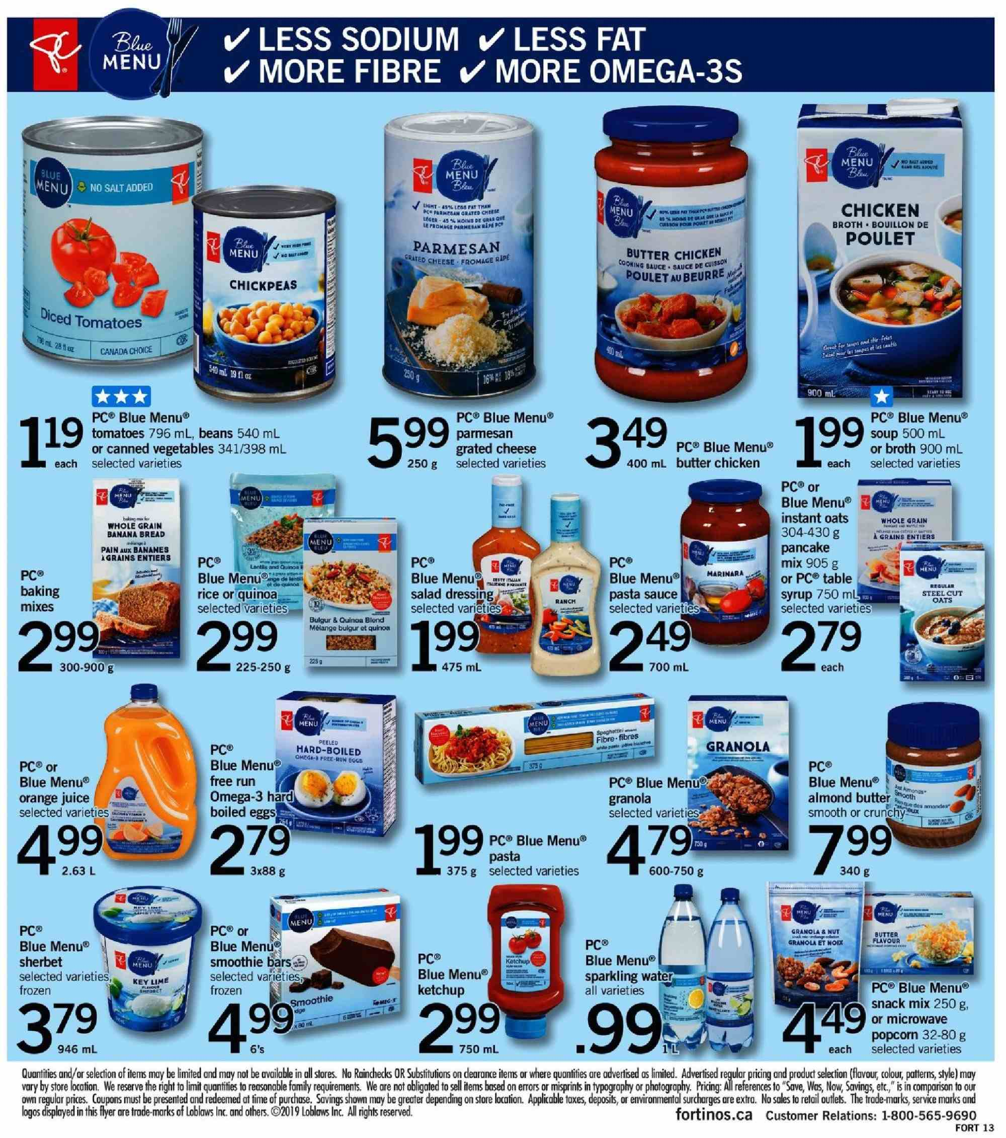 Fortinos Flyer  - January 03, 2019 - January 09, 2019. Page 14.