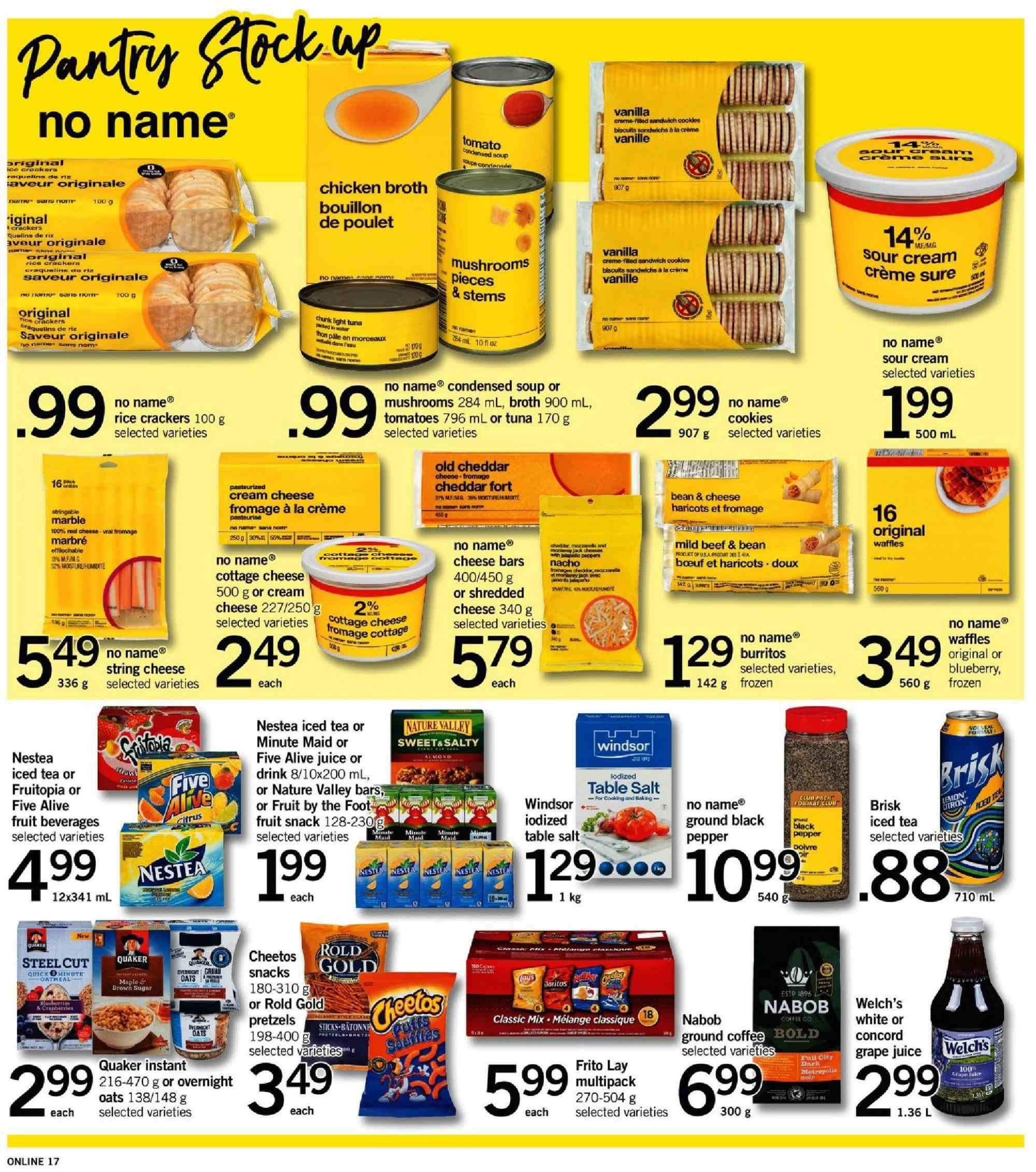 Fortinos Flyer  - January 03, 2019 - January 09, 2019. Page 16.