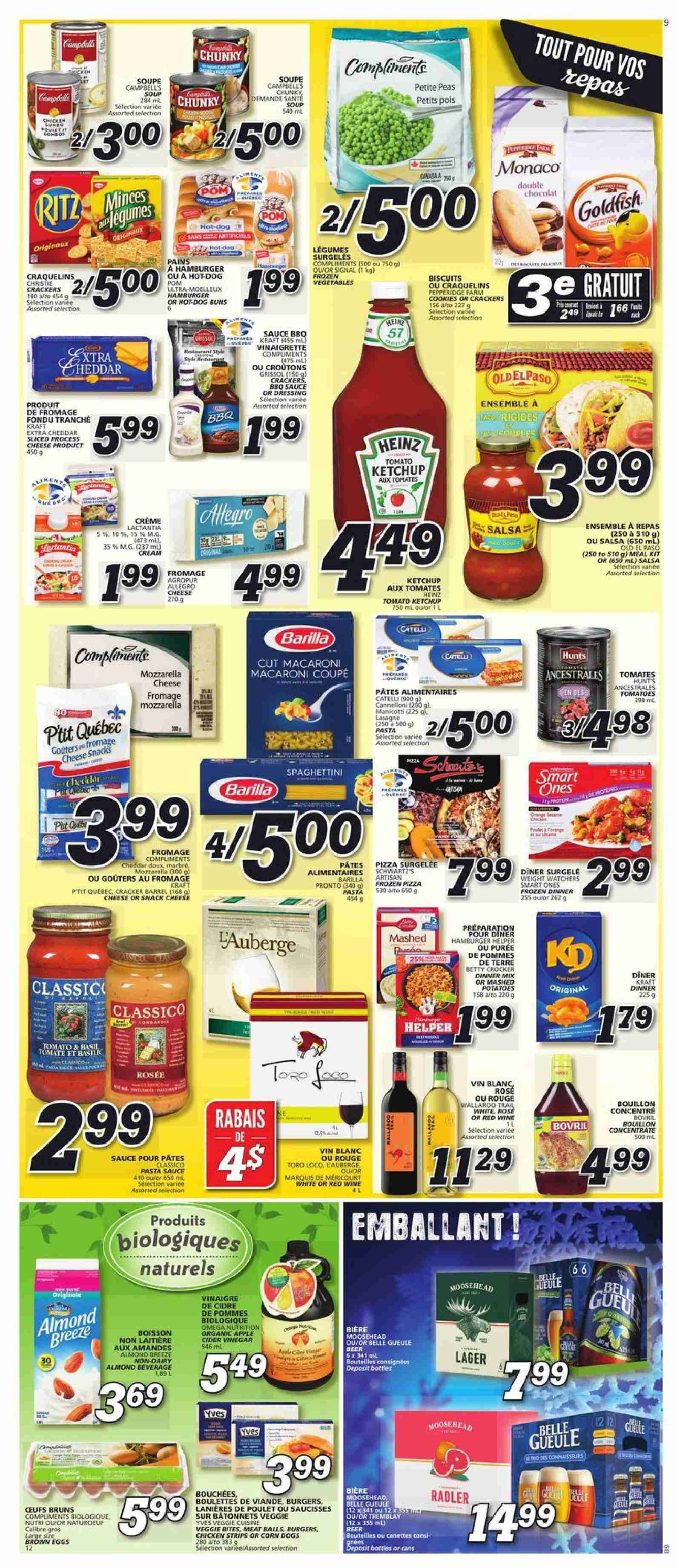 IGA Flyer  - January 10, 2019 - January 16, 2019. Page 7.