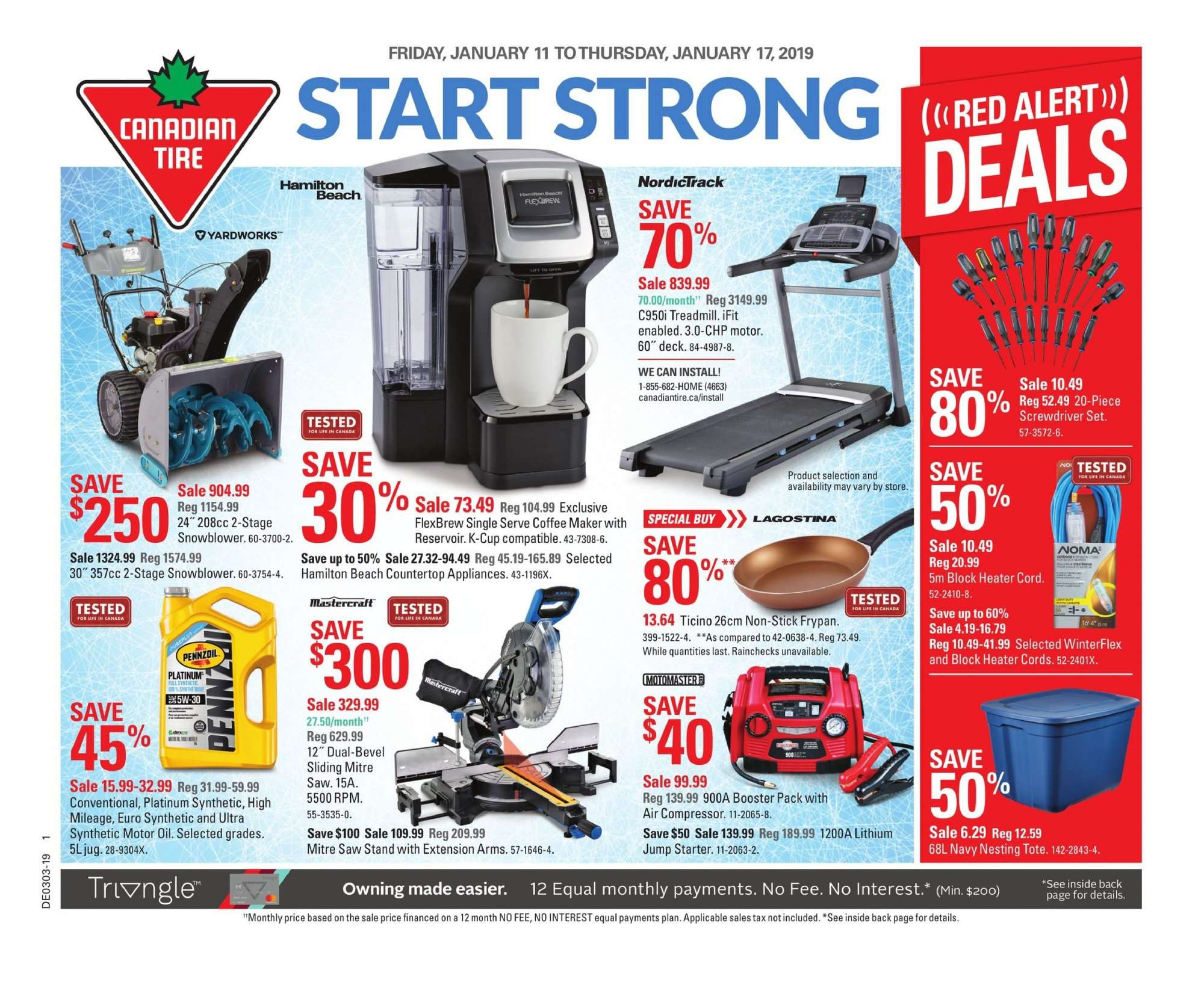 Current ad Canadian Tire