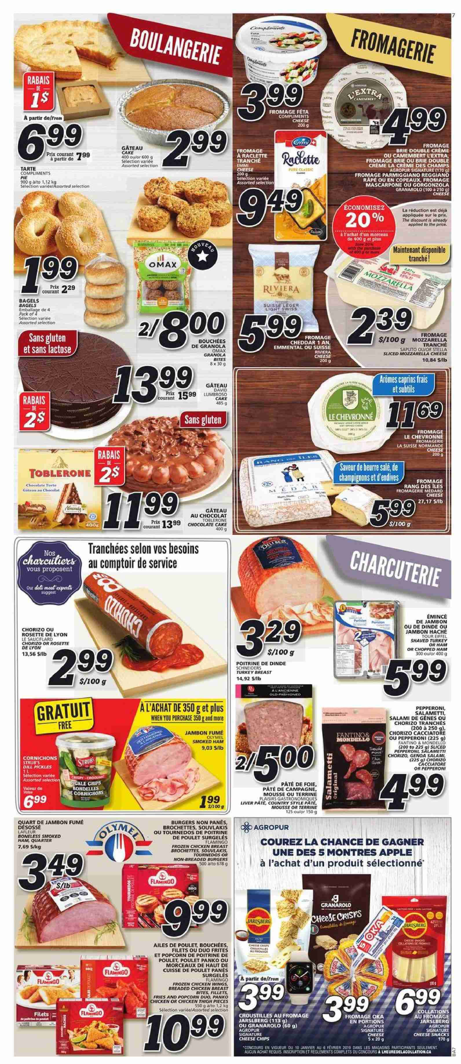 IGA Flyer  - January 17, 2019 - January 23, 2019. Page 5.