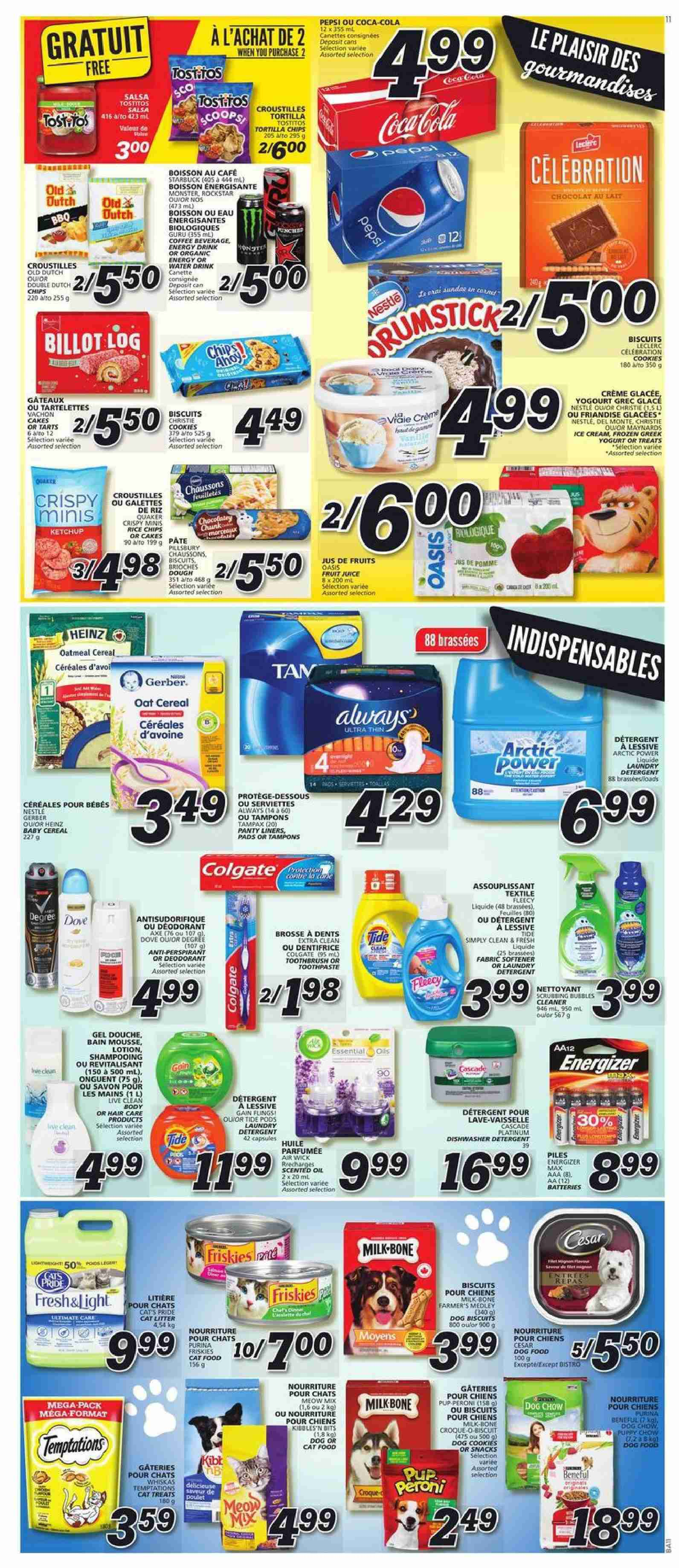 IGA Flyer  - January 17, 2019 - January 23, 2019. Page 9.