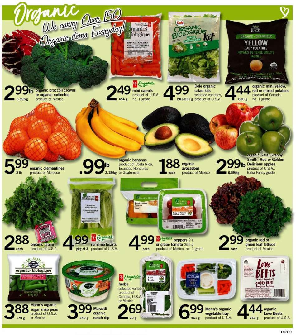 Current Fortinos flyer February 07, 2019 - February 13, 2019