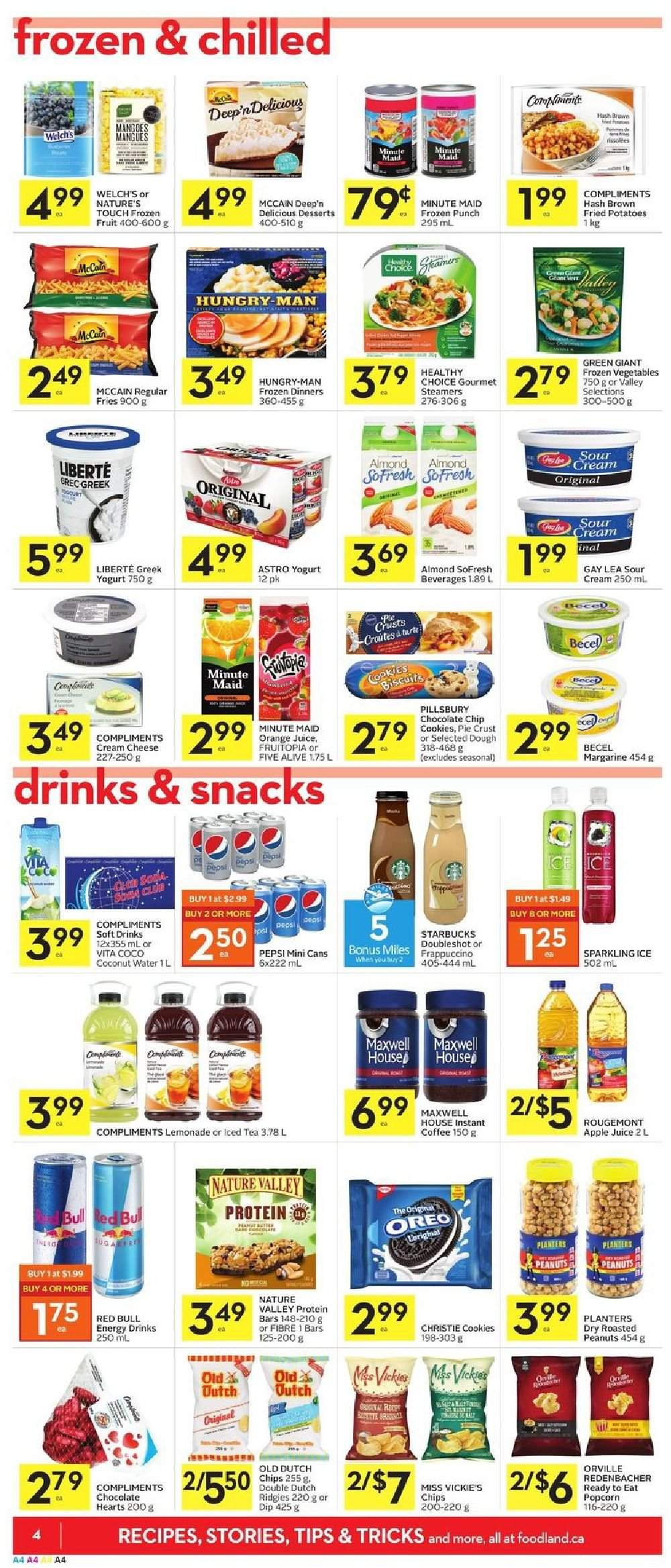 Foodland Flyer  - February 07, 2019 - February 13, 2019. Page 4.